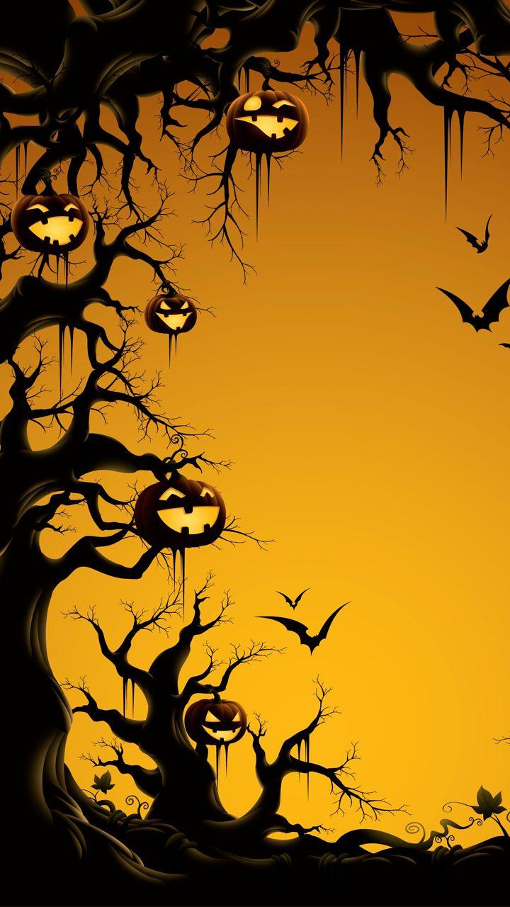 halloween wallpapers of 2012. halloween forest wallpaper. happy ...
