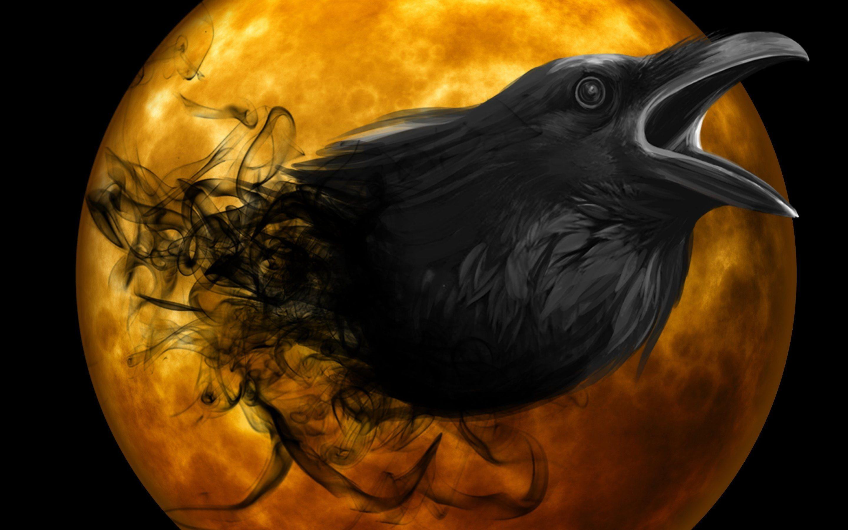 Raven's Spirit Full HD Wallpaper and Background | 2880x1800 | ID ...