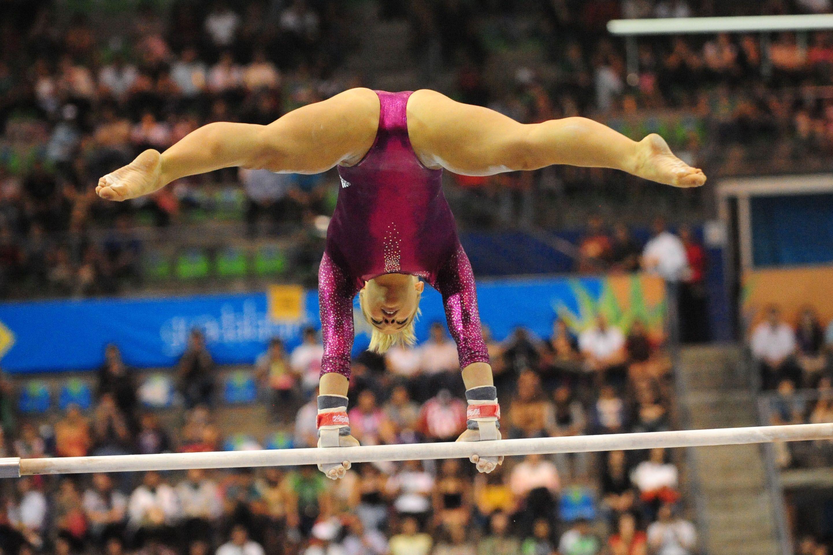 Female gymnasts nude