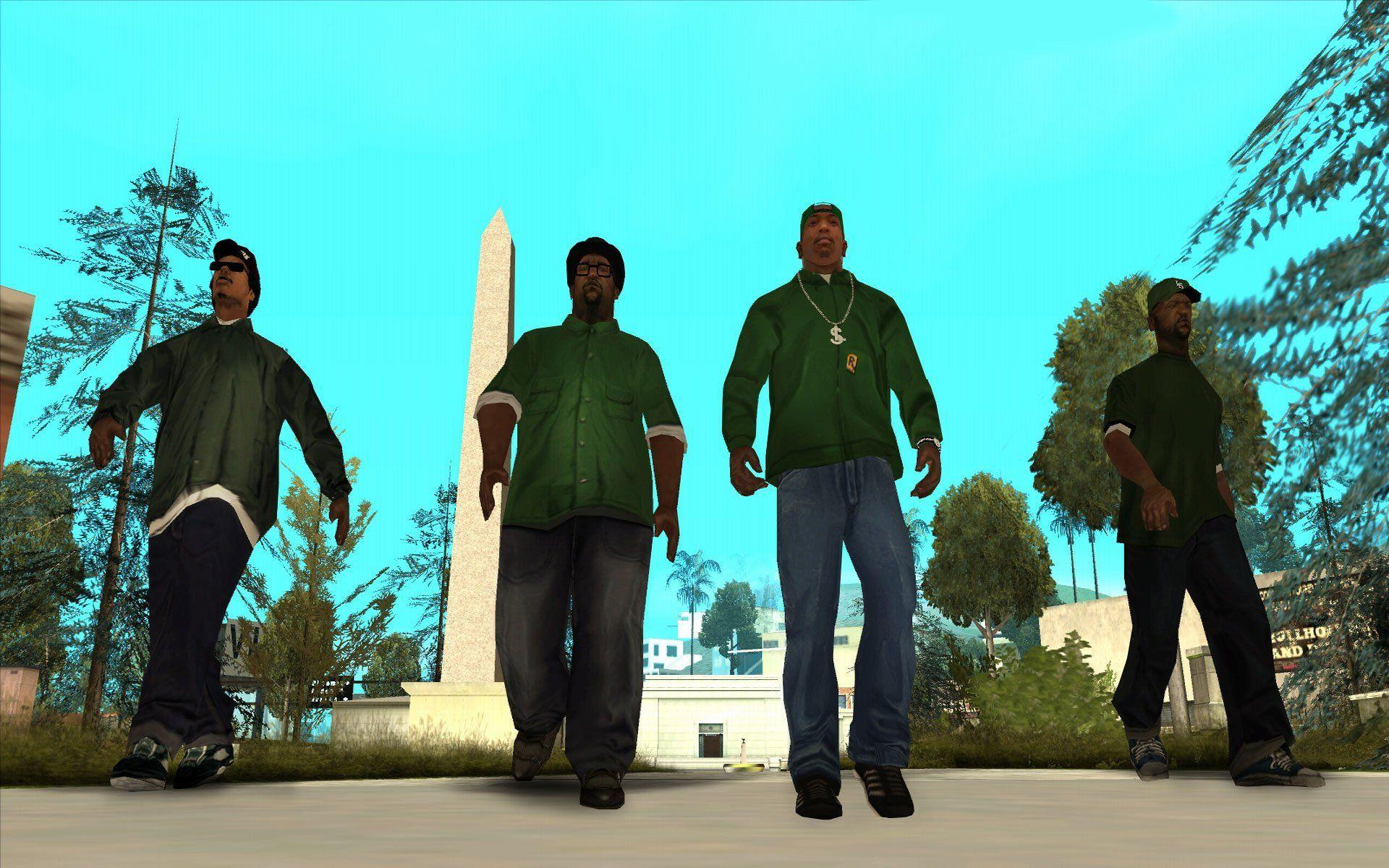 grand theft auto san andreas san