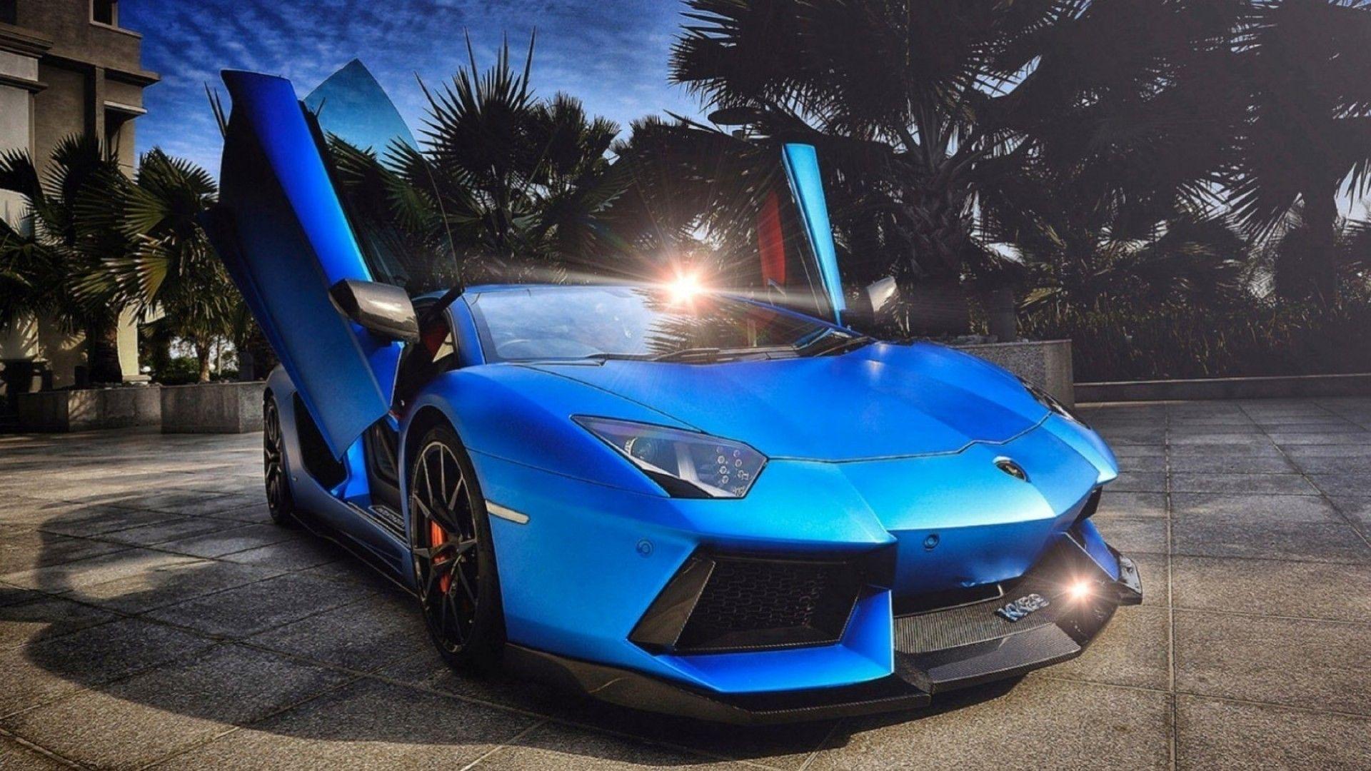 Blue Lamborghinis Wallpapers Wallpaper Cave