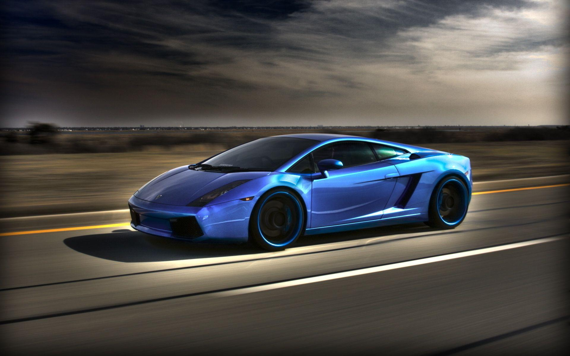 Blue Lamborghinis Wallpapers Wallpaper Cave