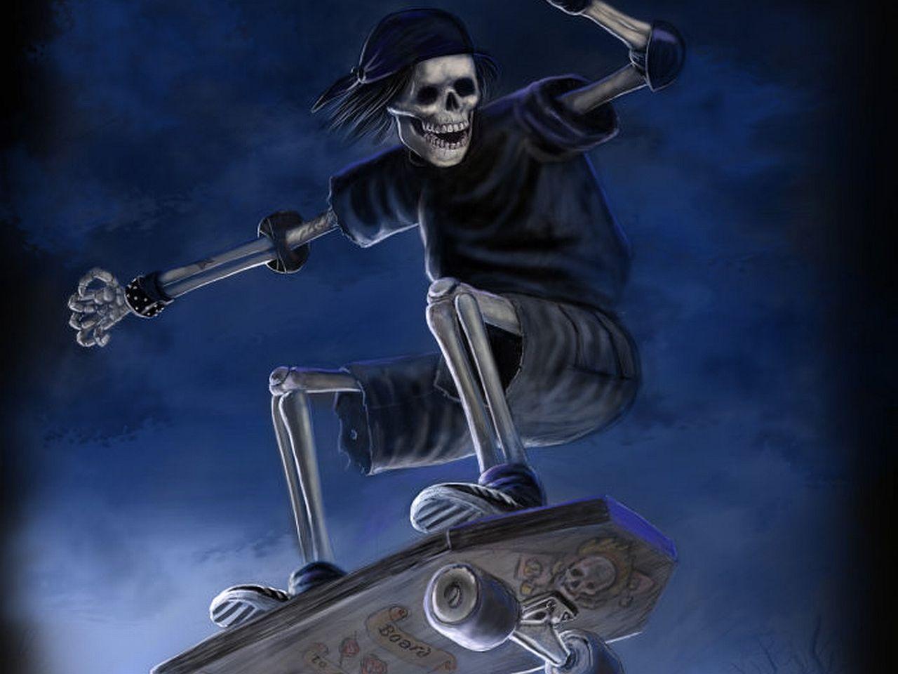 Halloween skeletons wallpapers wallpaper cave - Skeleton wallpaper ...
