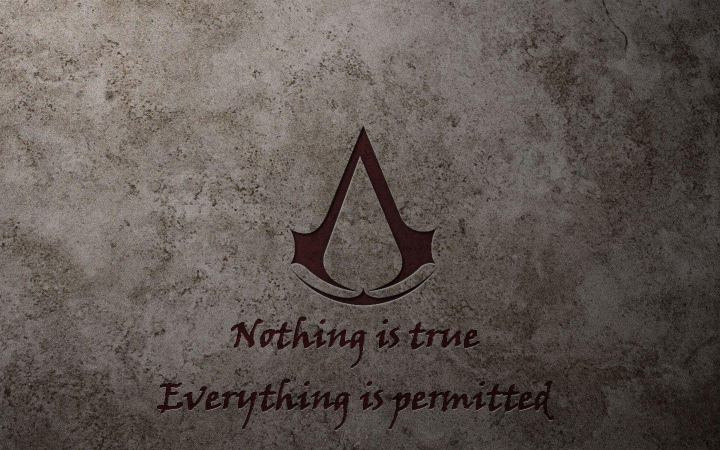 Assassins Creed quotes logos wallpapers