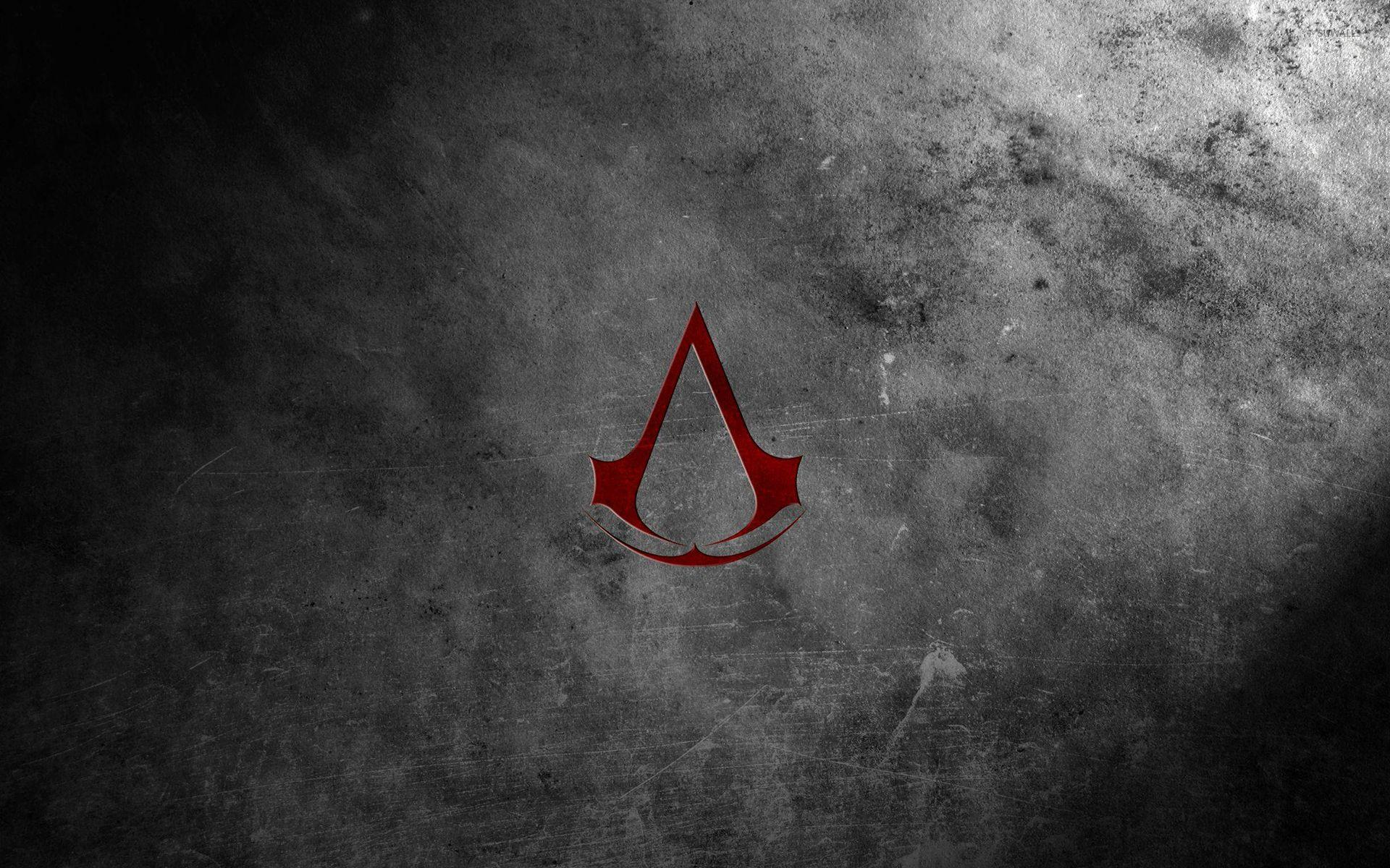 Red Assassin's Creed logo wallpapers