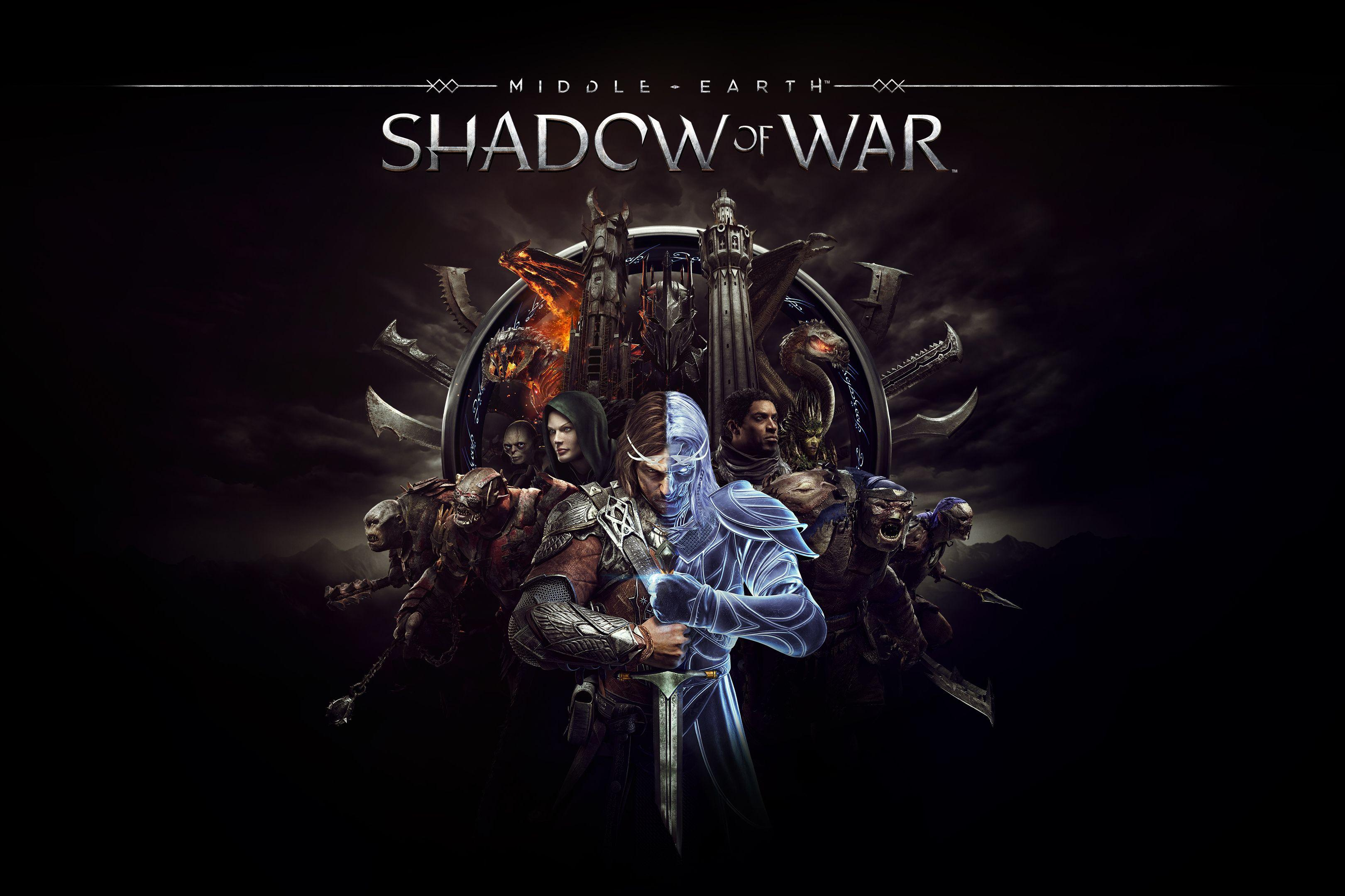 Middle Earth Shadow Of War Wallpapers Wallpaper Cave