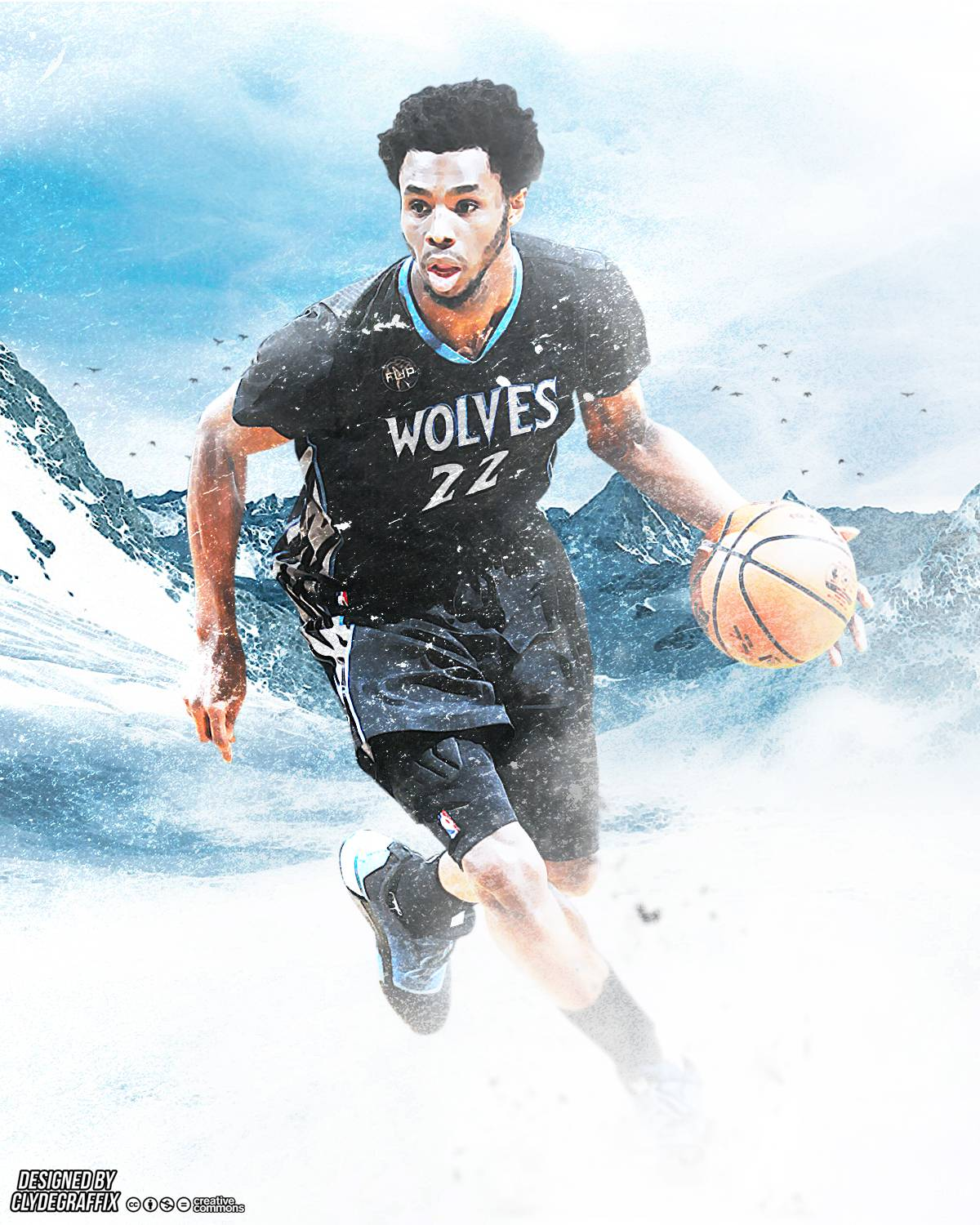 Poster I Made Of Andrew Wiggins That Thought You Guys Might Like