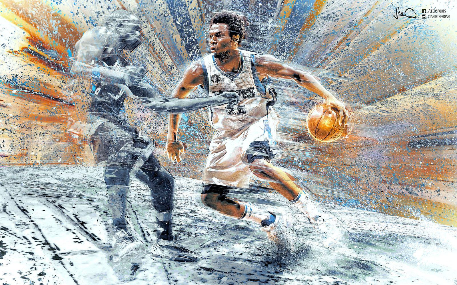 Andrew Wiggins NBA Wallpapers 2.0 by skythlee