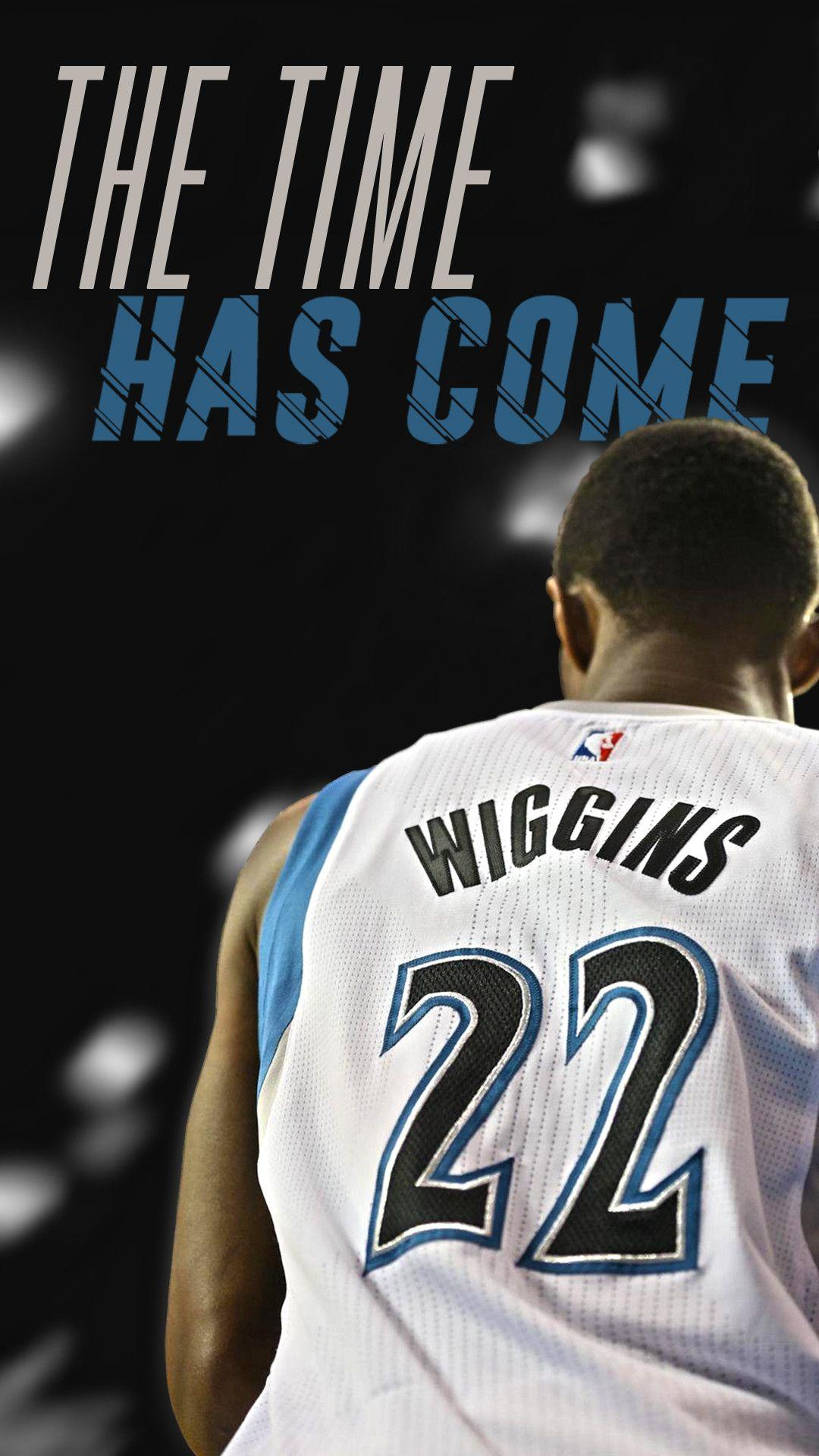 I made an Andrew Wiggins phone wallpaper! Let me know what you