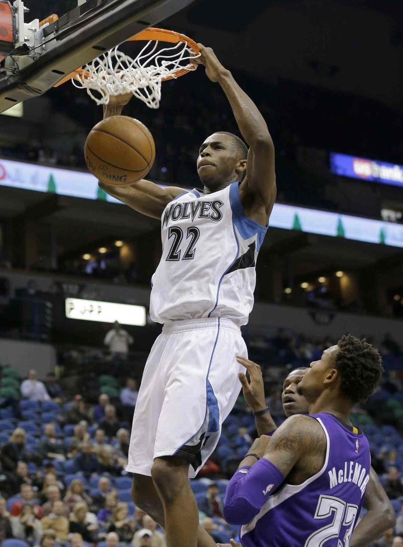 Andrew Wiggins Timberwolves 27