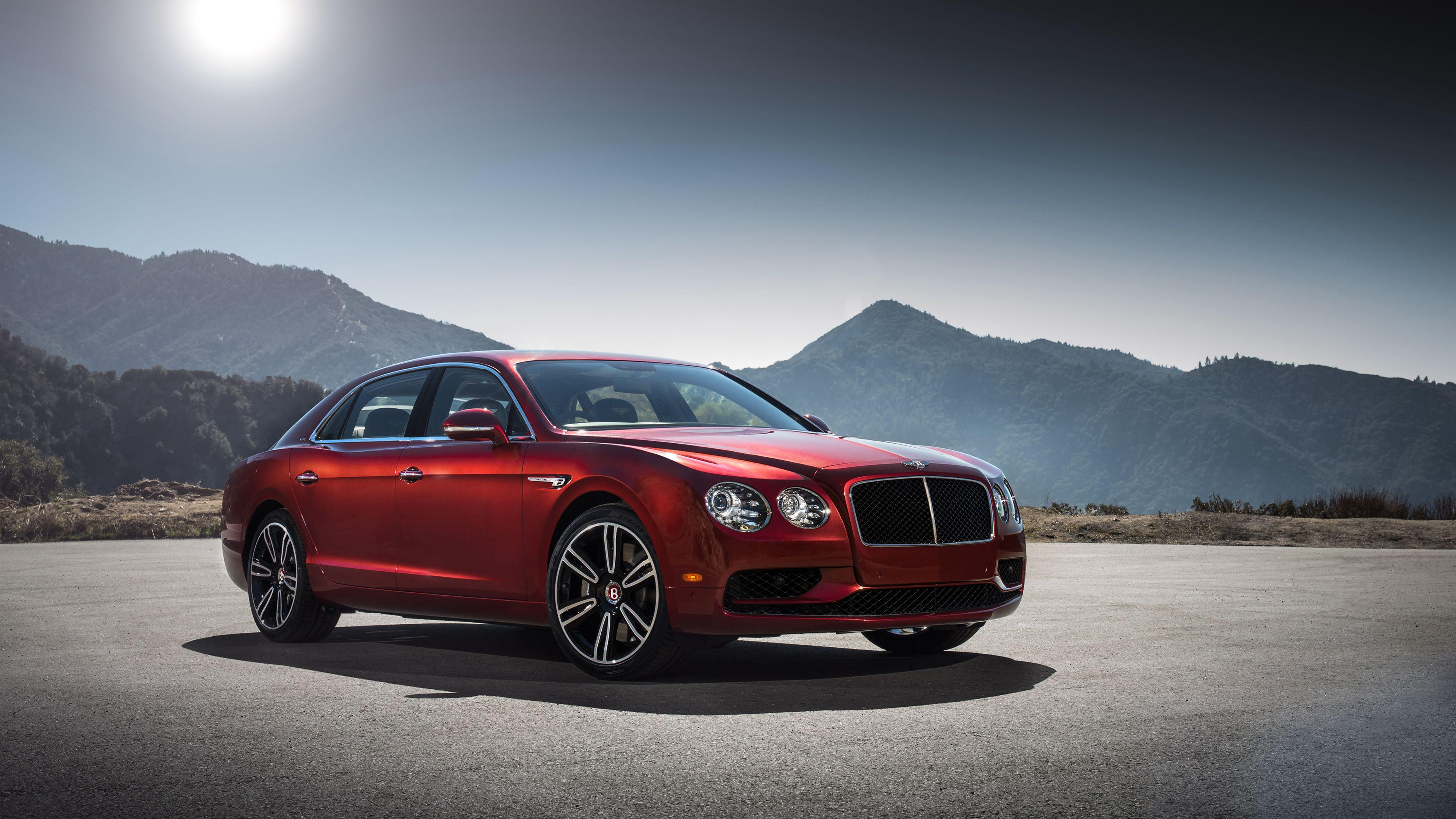 Bentley Continental Flying Spur V8 4K Wallpapers