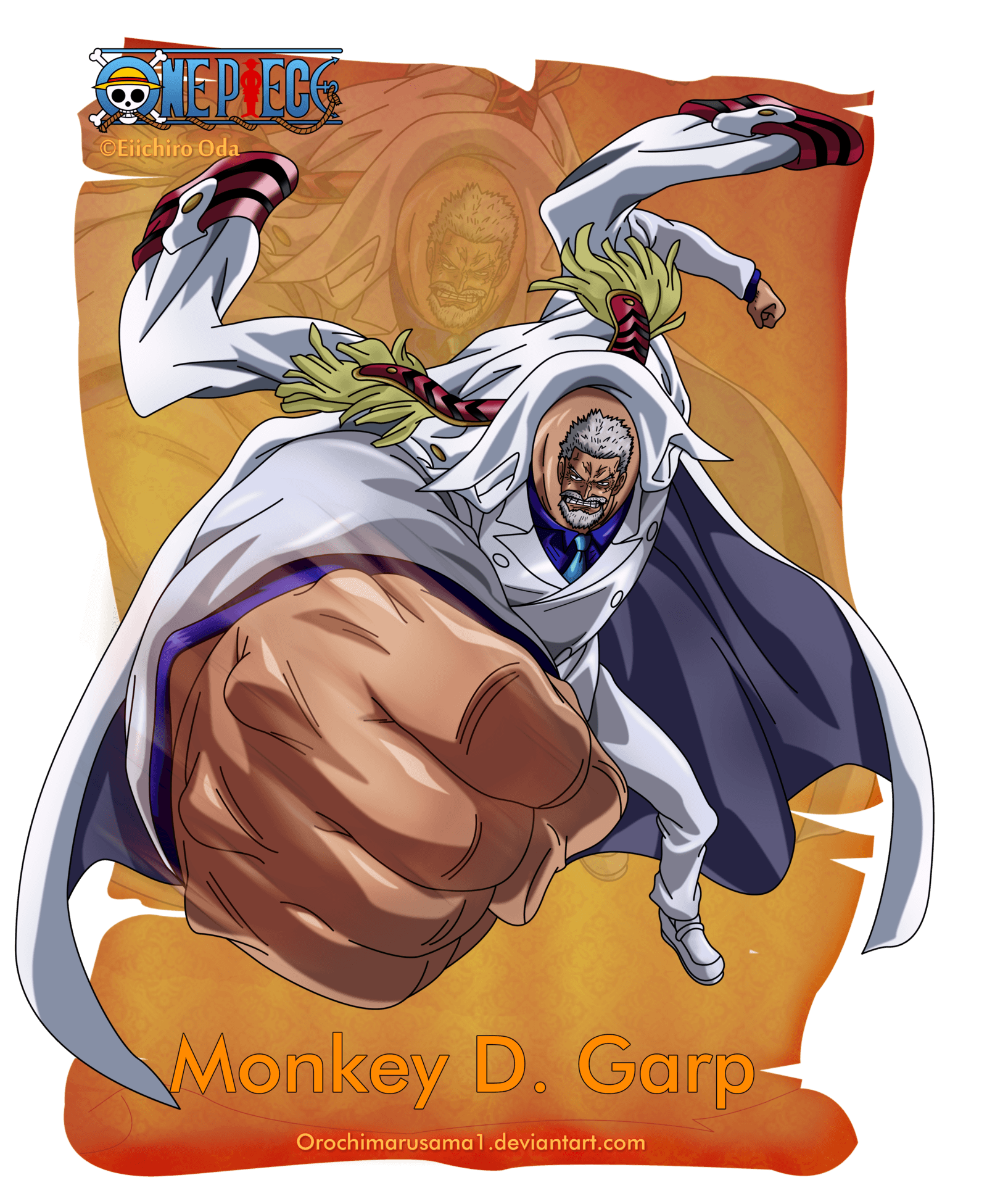 Monkey D. Dragon One Piece Wallpapers - Wallpaper Cave