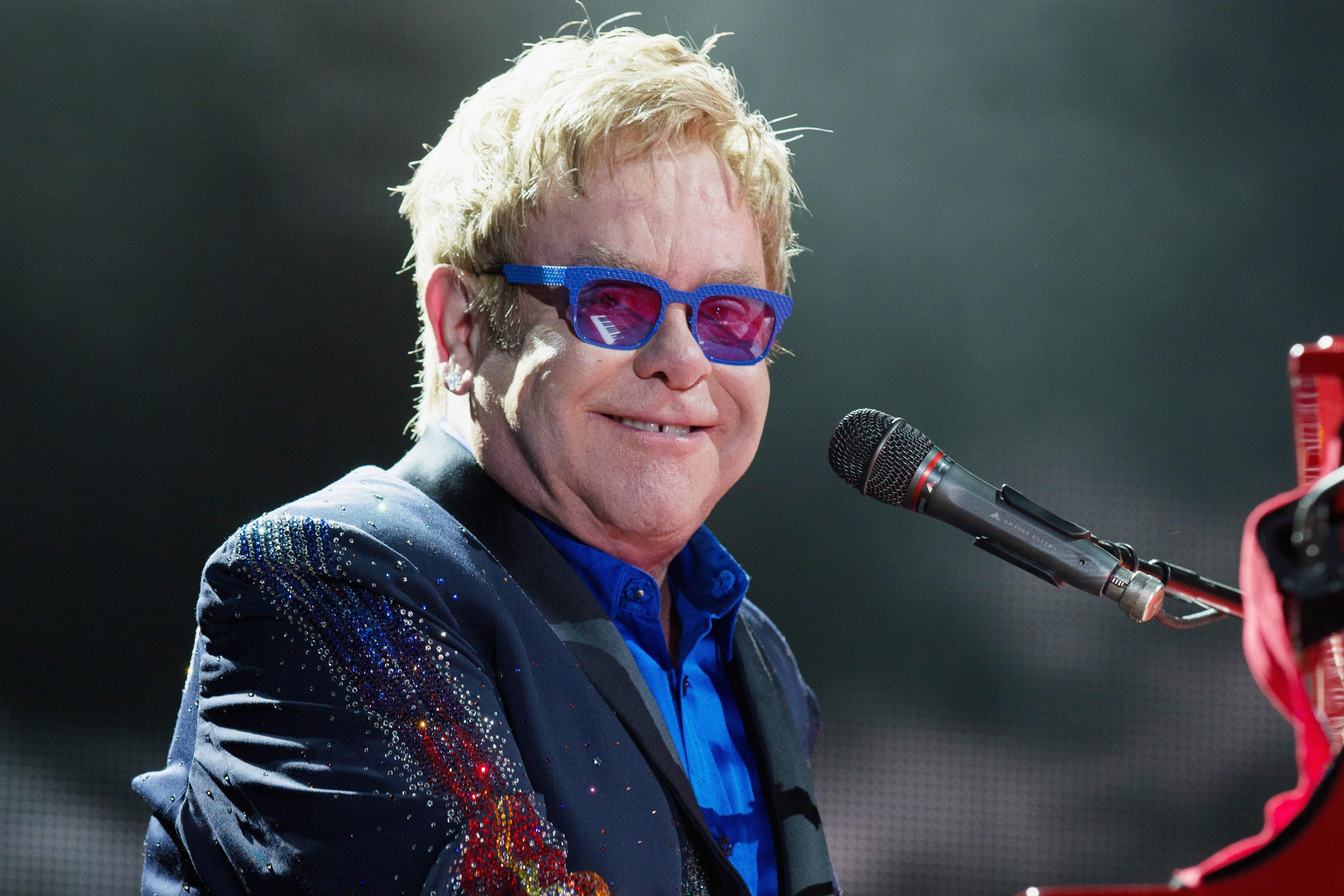 Sir Elton John is the most charitable person.
