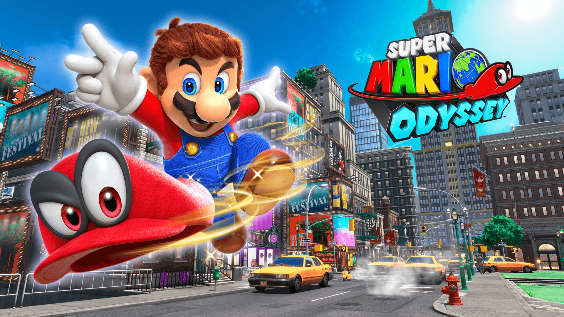 Super Mario Odyssey Wallpapers Wallpaper Cave