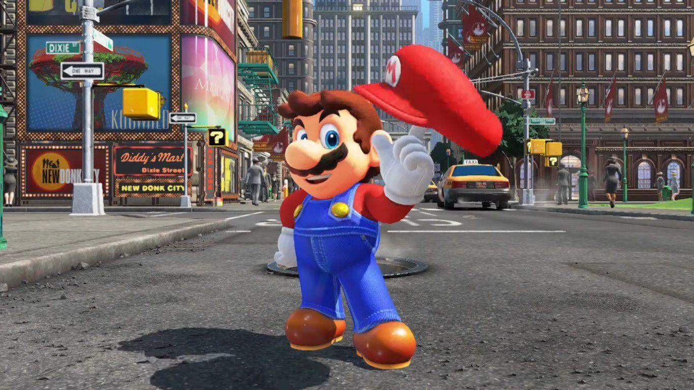 Watch every Nintendo Switch game trailer: Super Mario Odyssey and