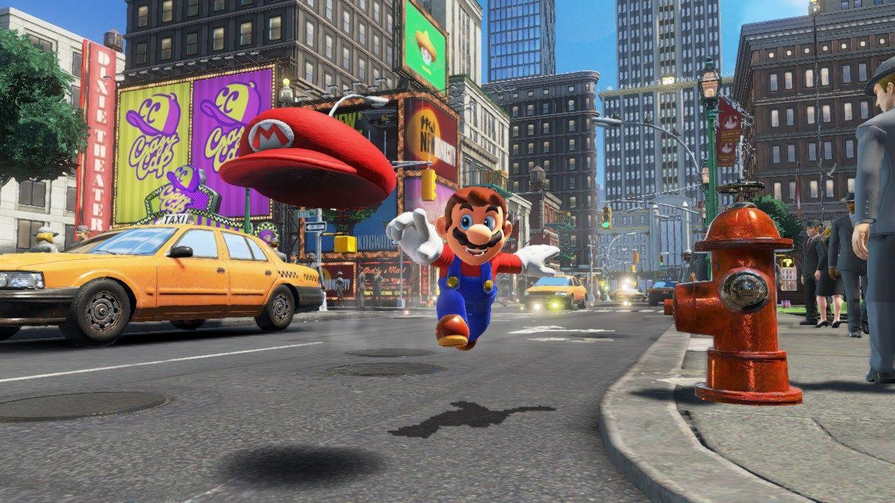 A quick look at diving in Super Mario Odyssey