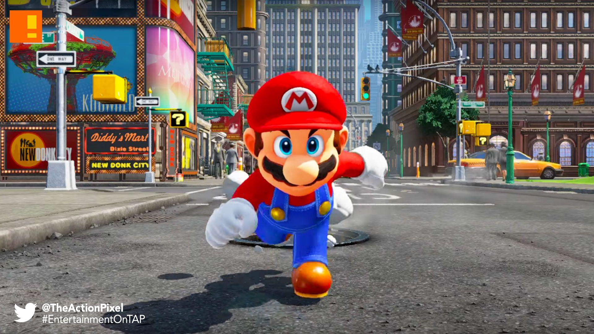 "Nintendo announces ""Super Mario Odyssey"" for the Nintendo Switch"