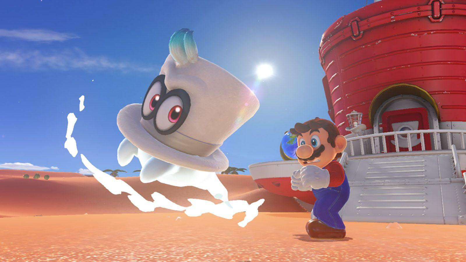 Super Mario Odyssey' may look bizarre, but it feels just right