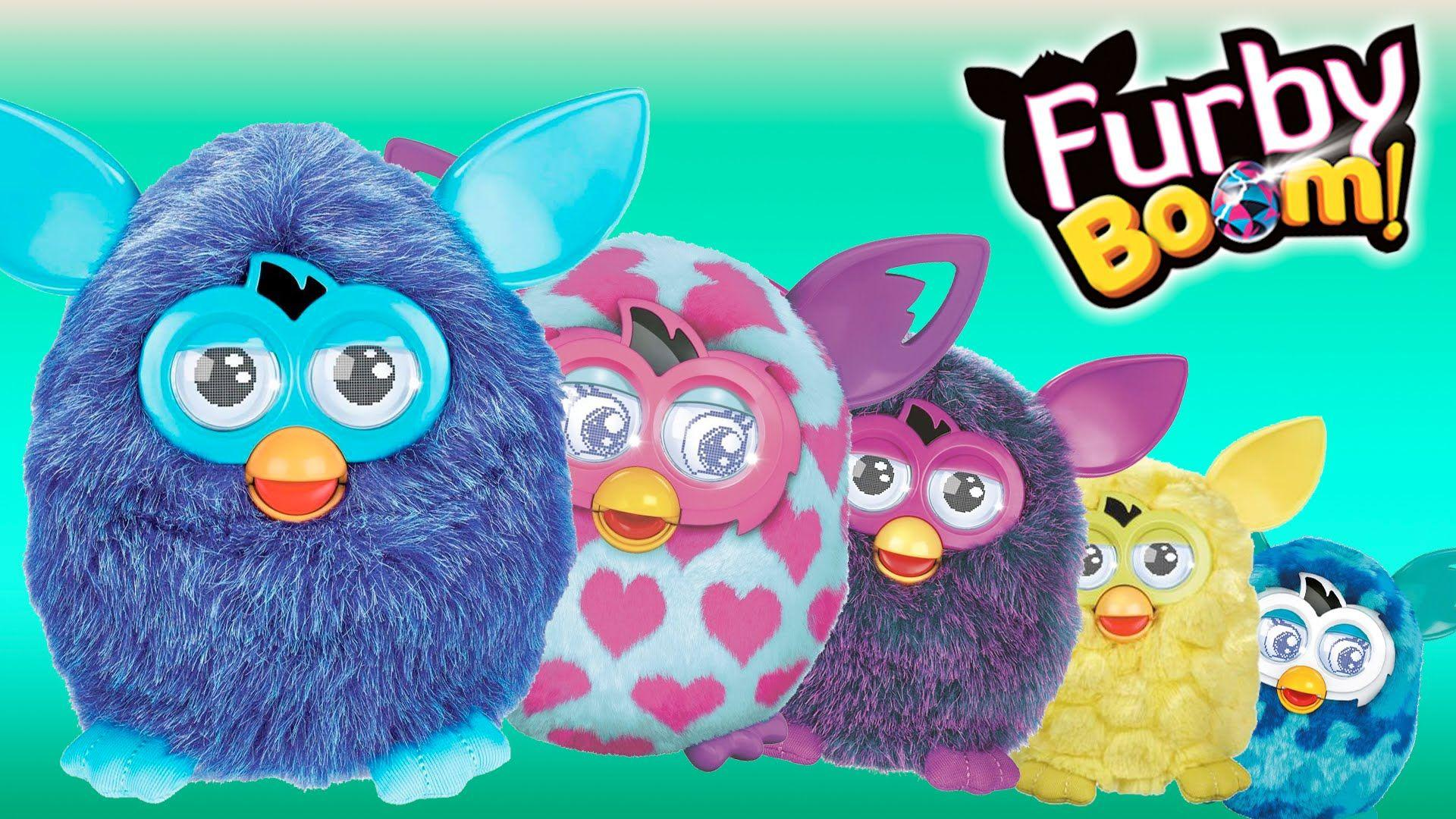 Pictures of furby boom