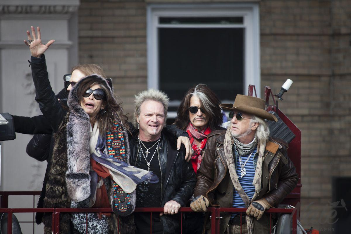 Steven Tyler and Aerosmith rocked Boston at 1325 Commonwealth Ave