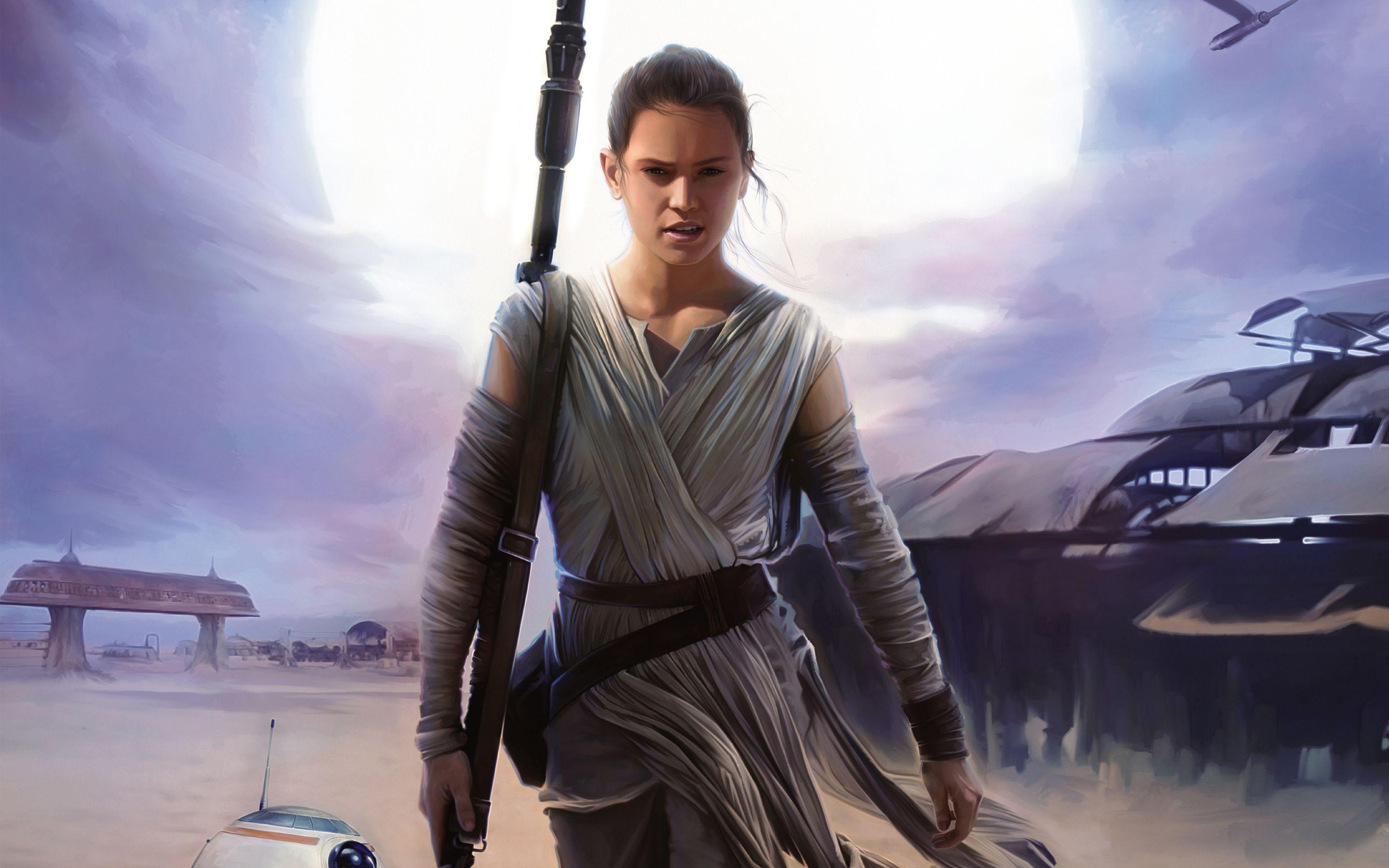 Rey Star Wars Wallpapers Wallpaper Cave