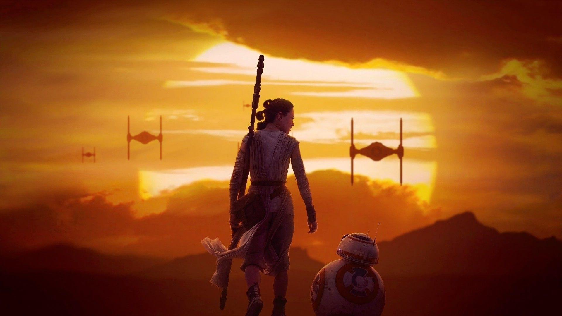 Star Wars, Rey, BB 8 Wallpapers HD / Desktop and Mobile Backgrounds