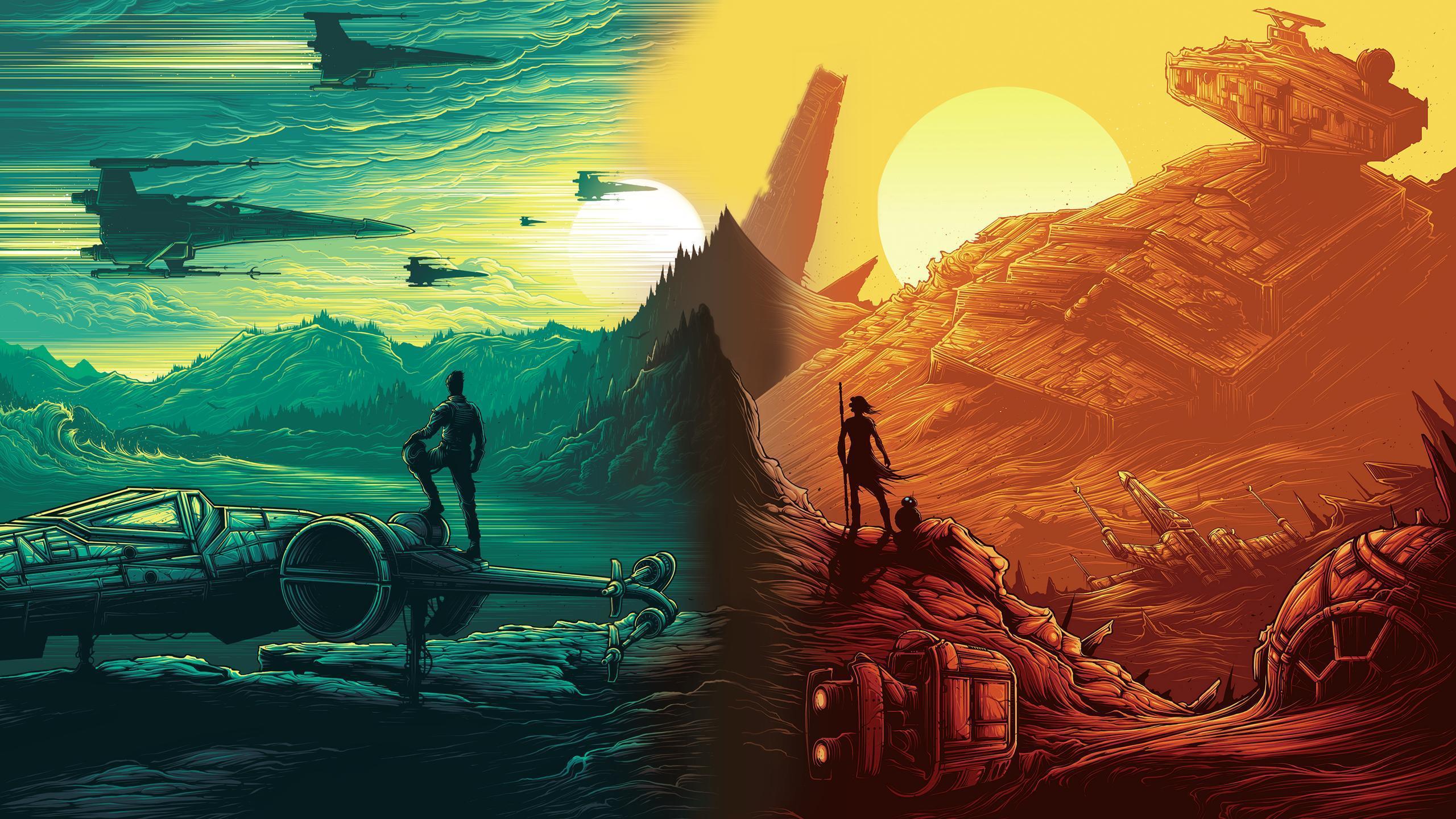 Rey Star Wars Wallpapers Wallpaper Cave