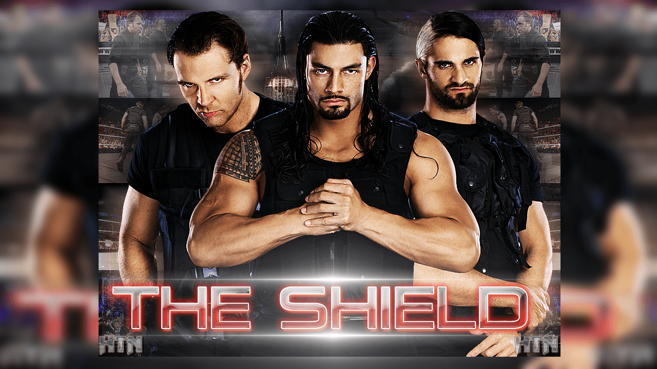 the shield wwe wallpapers wallpaper cave. Black Bedroom Furniture Sets. Home Design Ideas