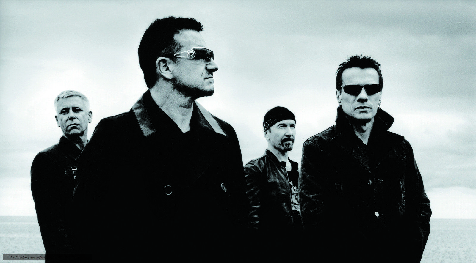 Download wallpapers group, rock, Bono, Hewson free desktop