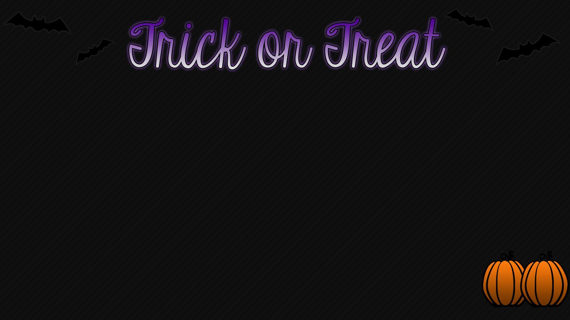 Trick or Treat Halloween Wallpapers 1920x1080 by Sleepy