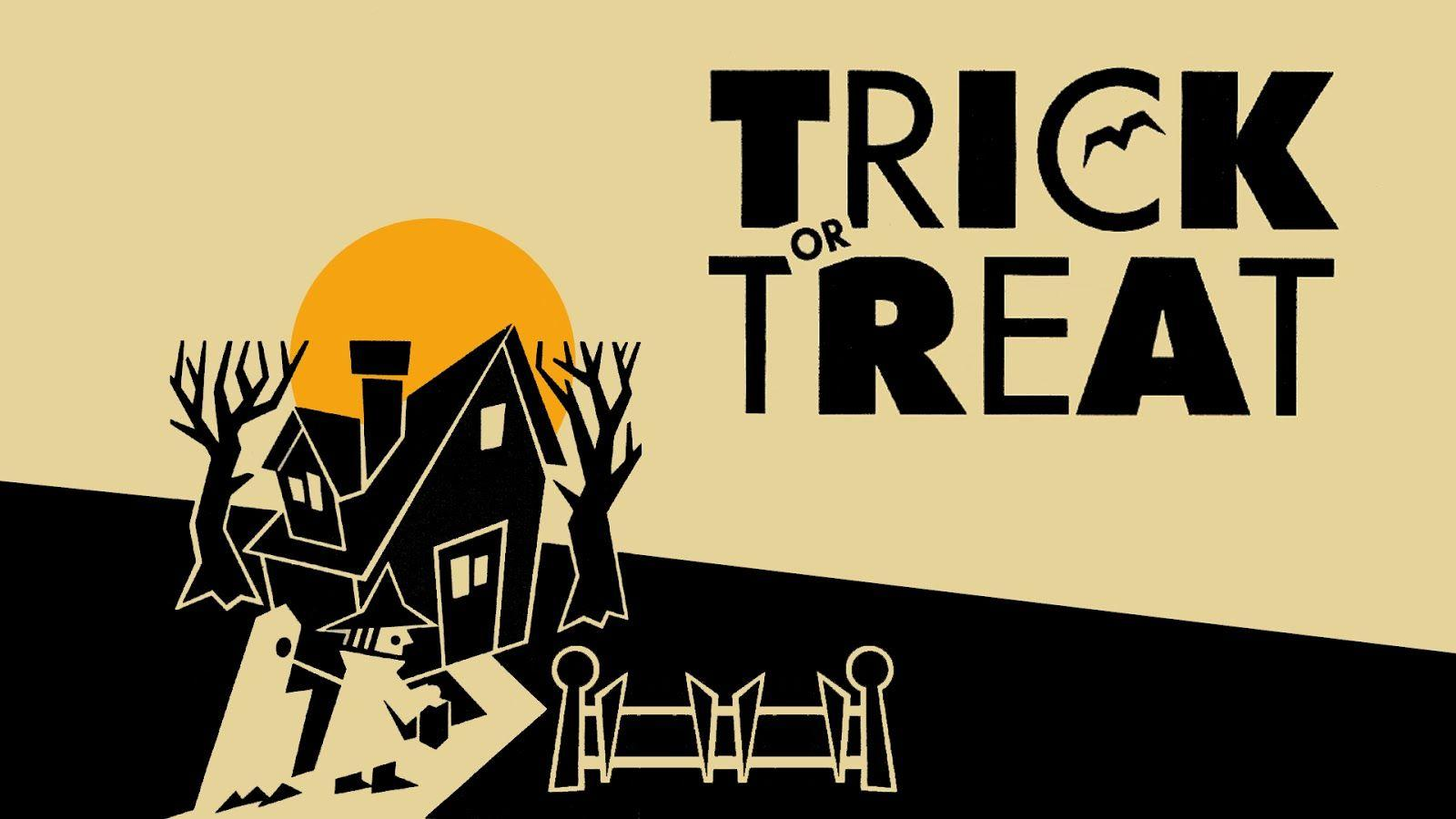 Neato Coolville: HALLOWEEN WALLPAPER: TRICK OR TREAT