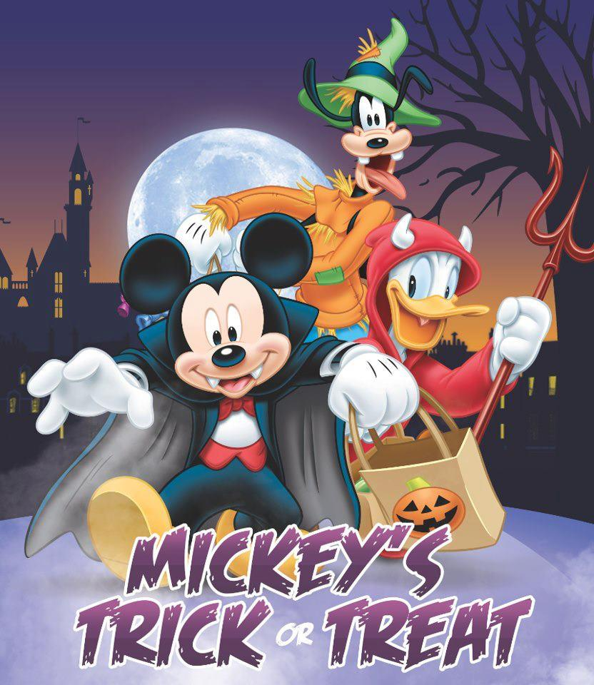 Mickey Mouse And Friends Disney Halloween Trick Or Treat Wallpapers