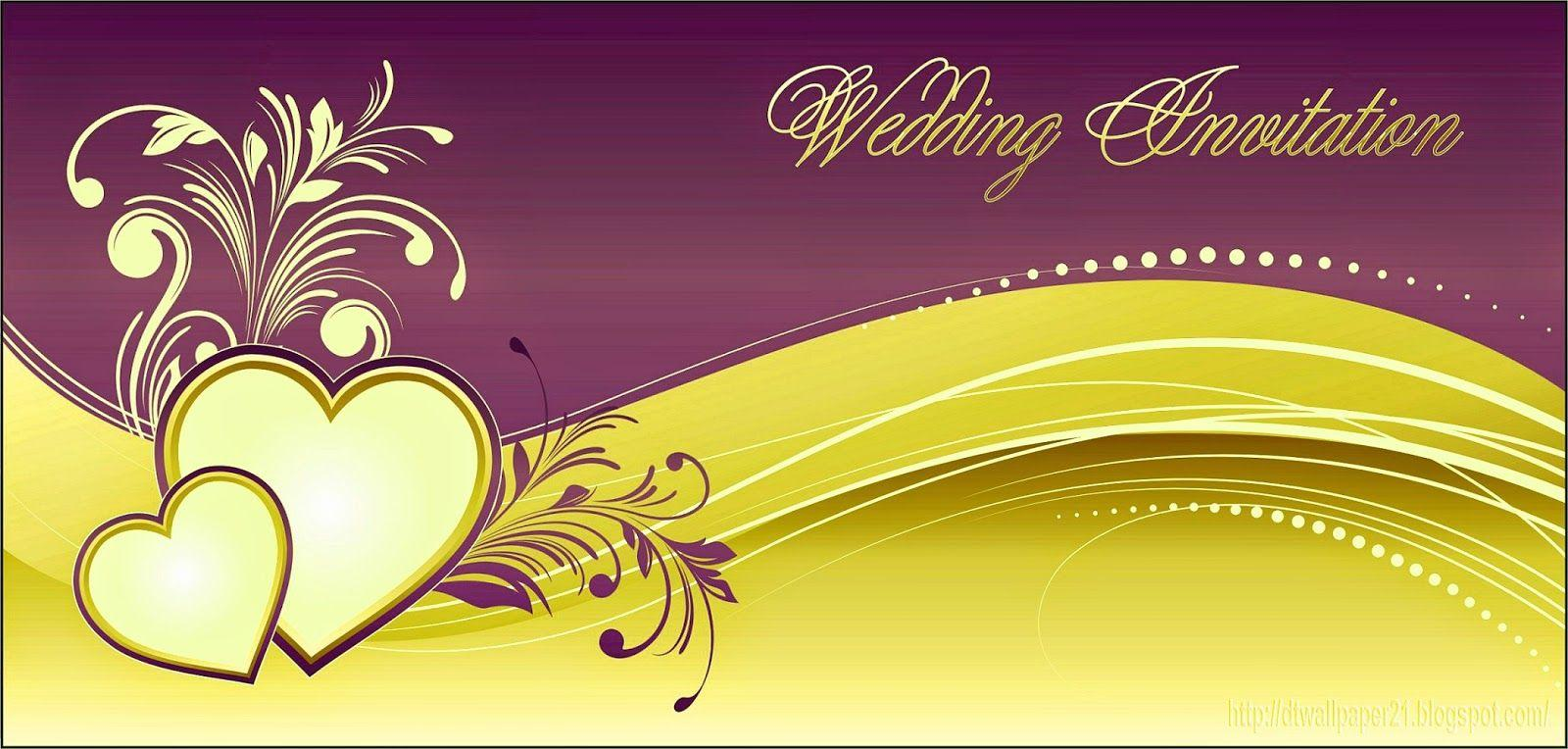 Free Wedding Invitation Background Designs: Wedding Invitation Wallpapers
