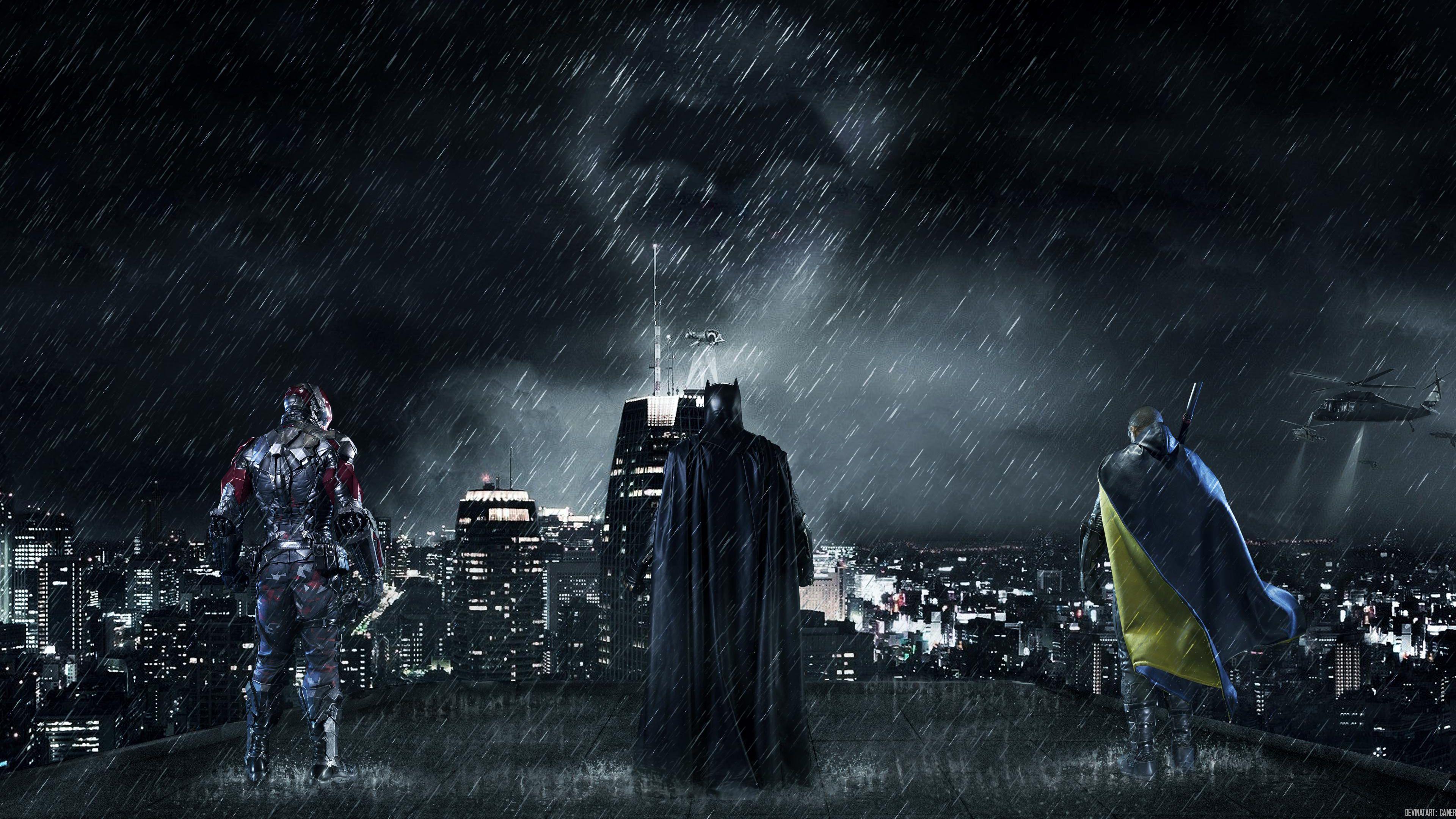 Gotham City Hd Wallpapers Wallpaper Cave