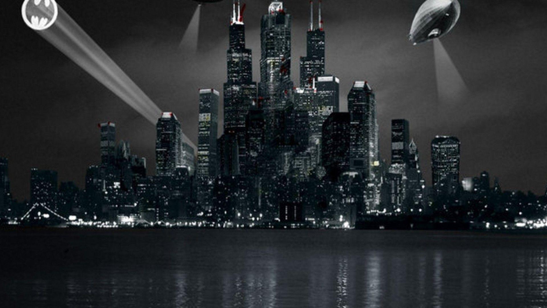 Gotham city hd wallpapers wallpaper cave - Gotham wallpaper ...