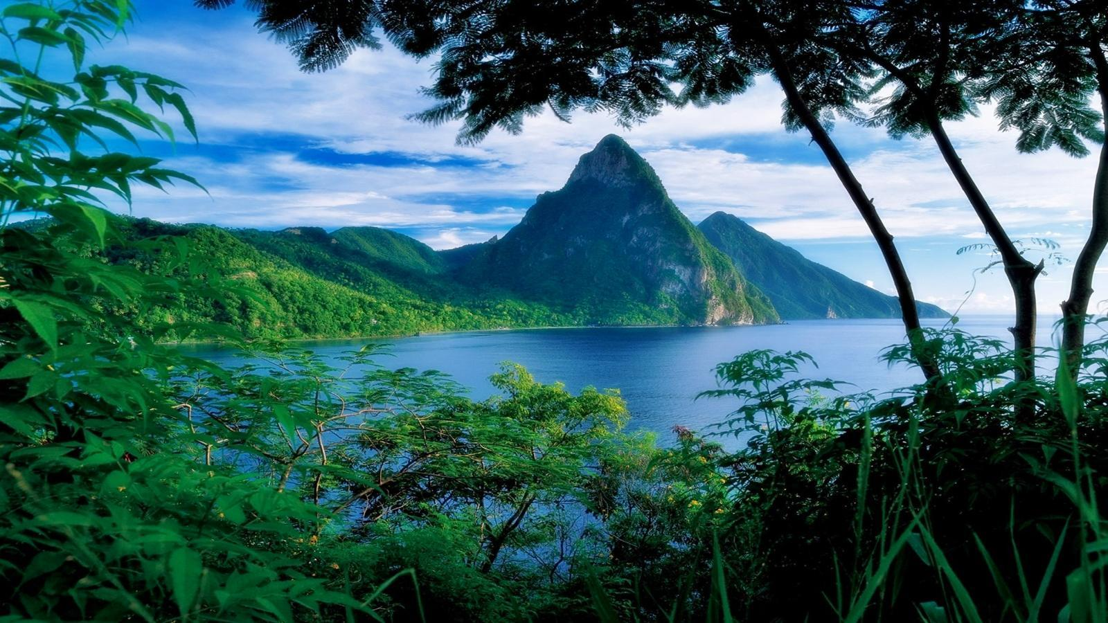 St Lucia Wallpapers - WallpaperSafari | Adorable Wallpapers ...