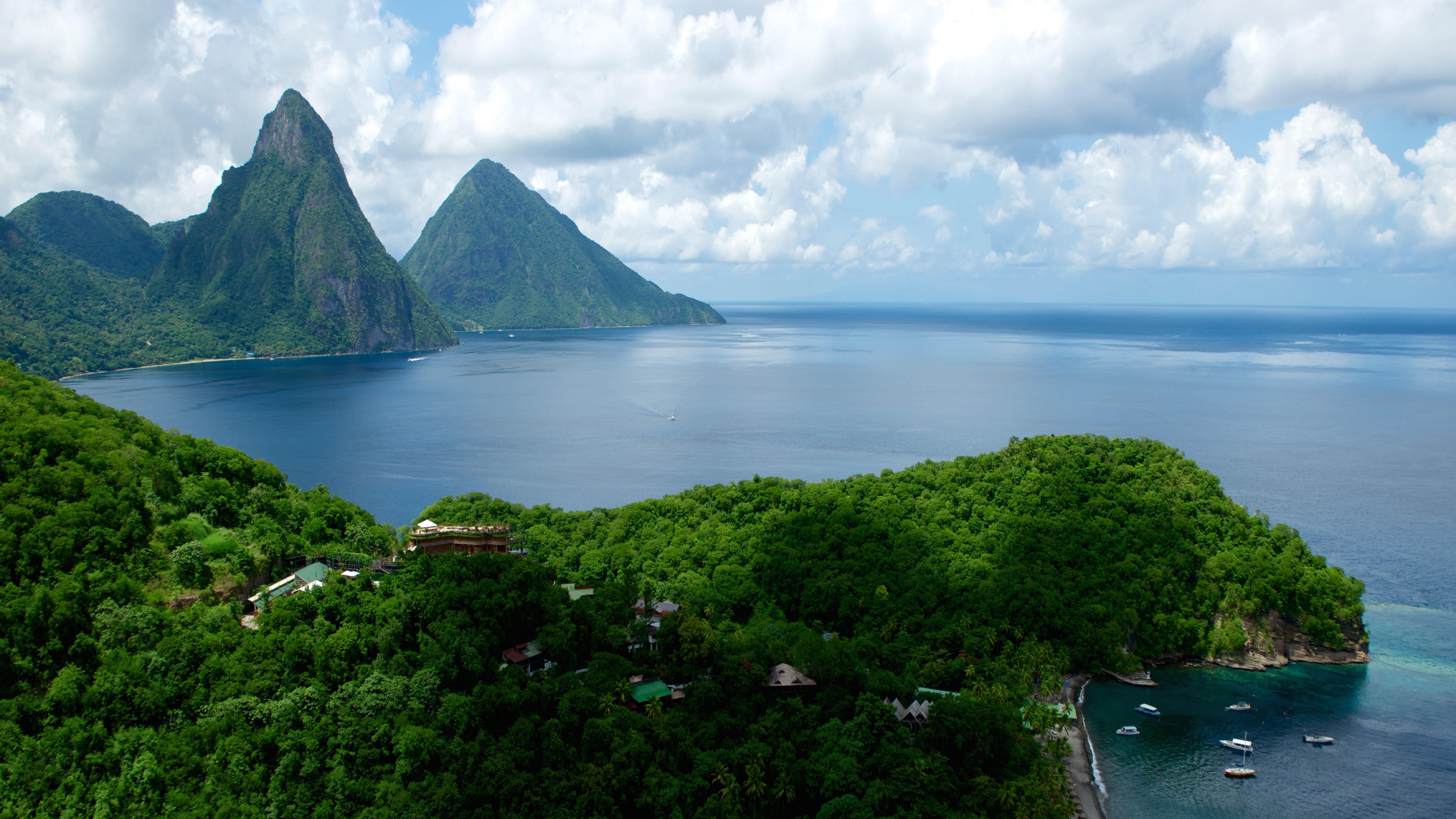 Saint Lucia 8K Wallpapers