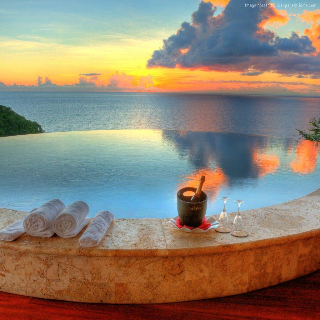 Wallpaper Jade Mountain Resort, Saint Lucia, The best hotel pools ...