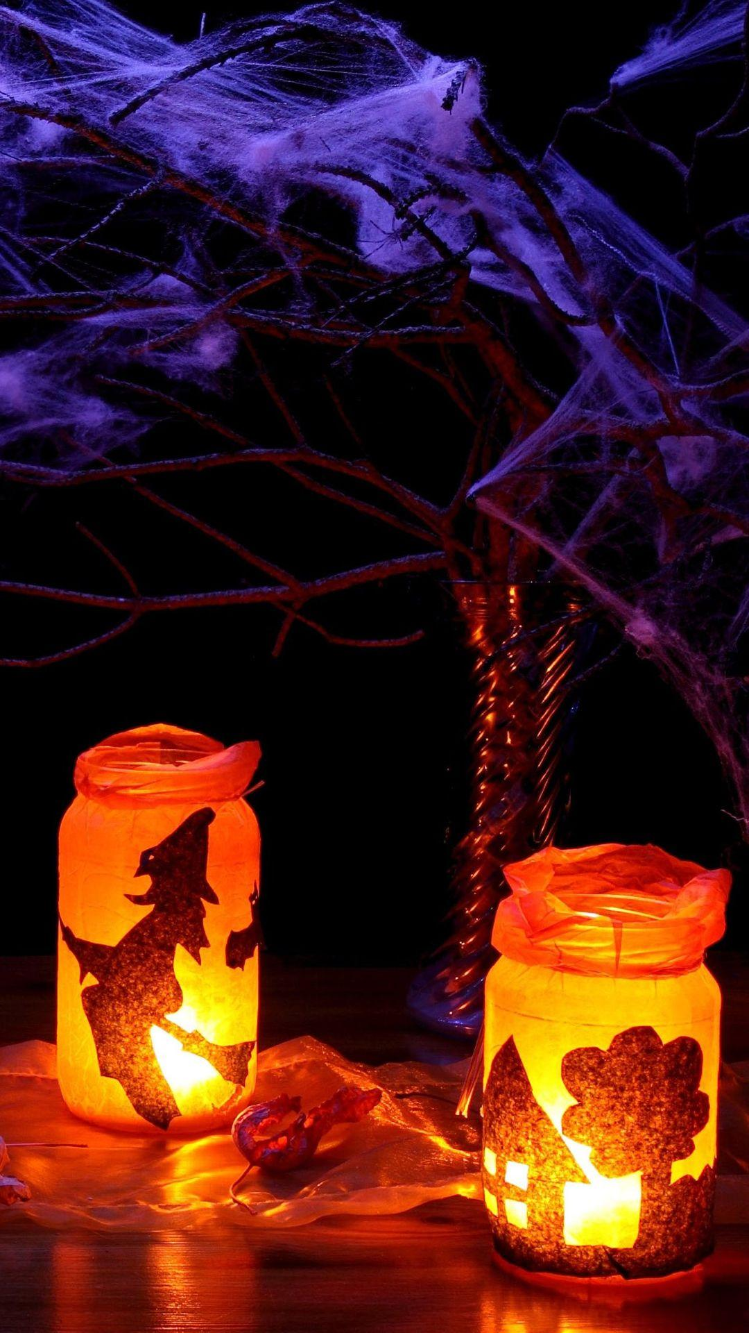 halloween lights wallpapers