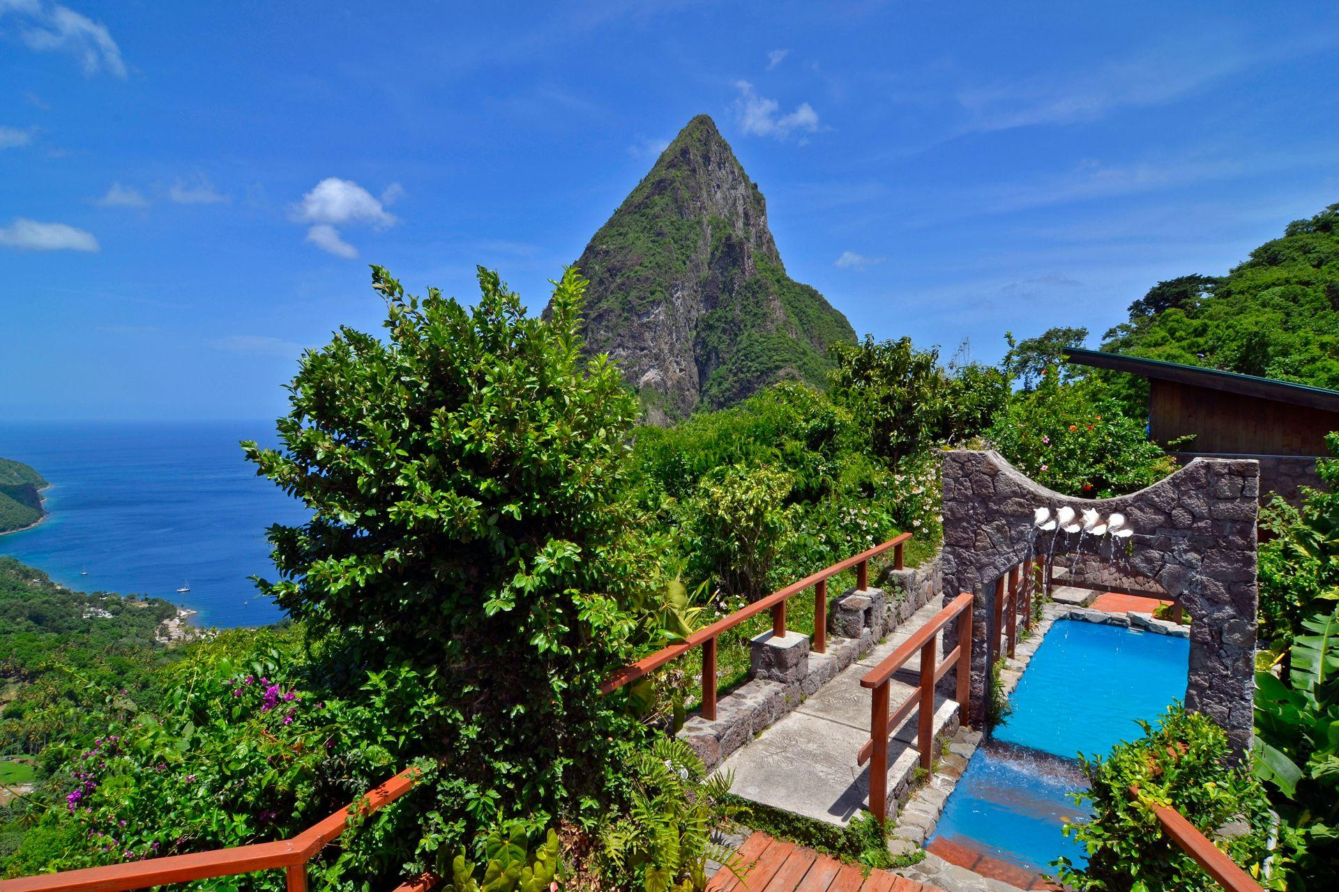 Where to stay in St Lucia (Condé Nast Traveller)
