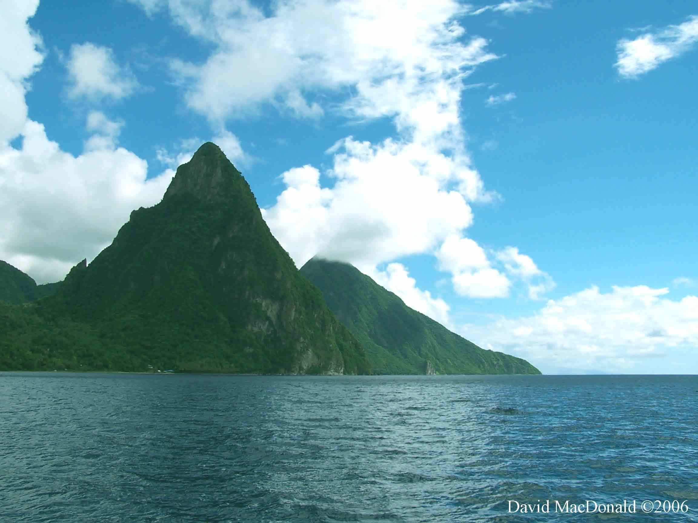 Volcanoes images St. Lucia Volcano HD wallpaper and background ...