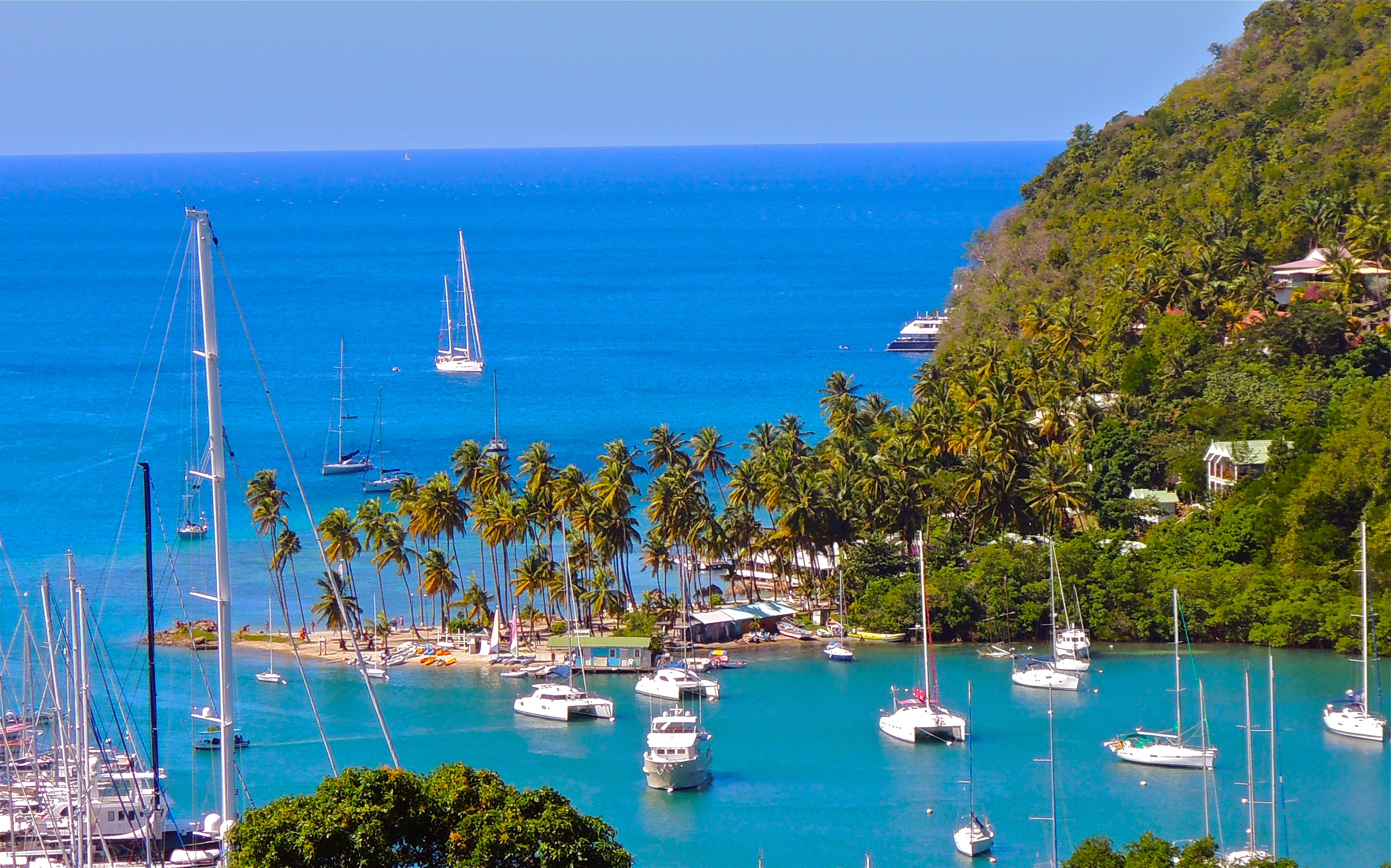 St Lucia yacht charter boats, Caribbean charter yacht rental ...