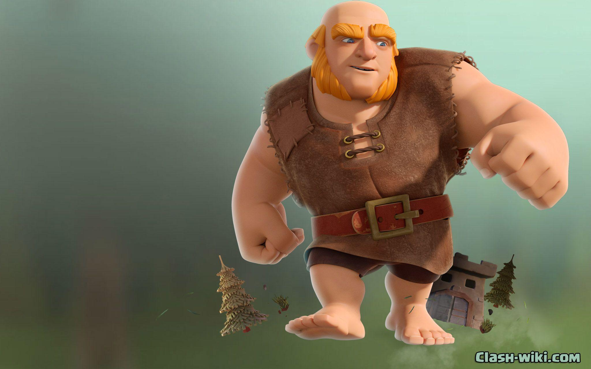 Giant Clash Clans Wallpapers Wallpaper Cave