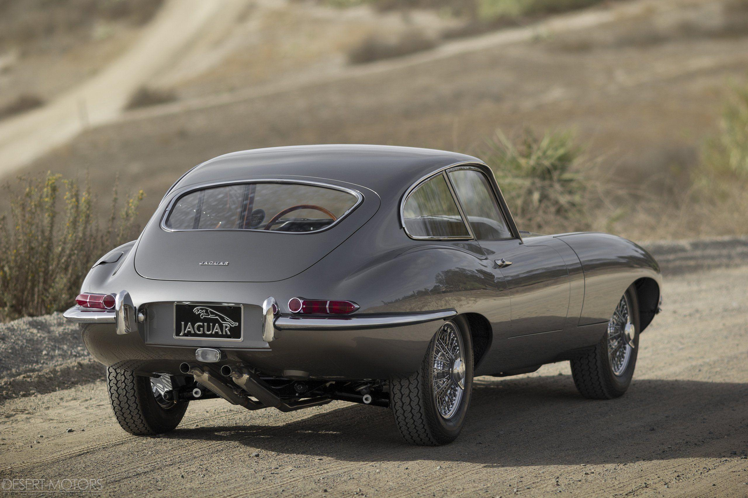 1964 Jaguar E-Type Series-1 Fixed Head Coupe classic wallpaper ...