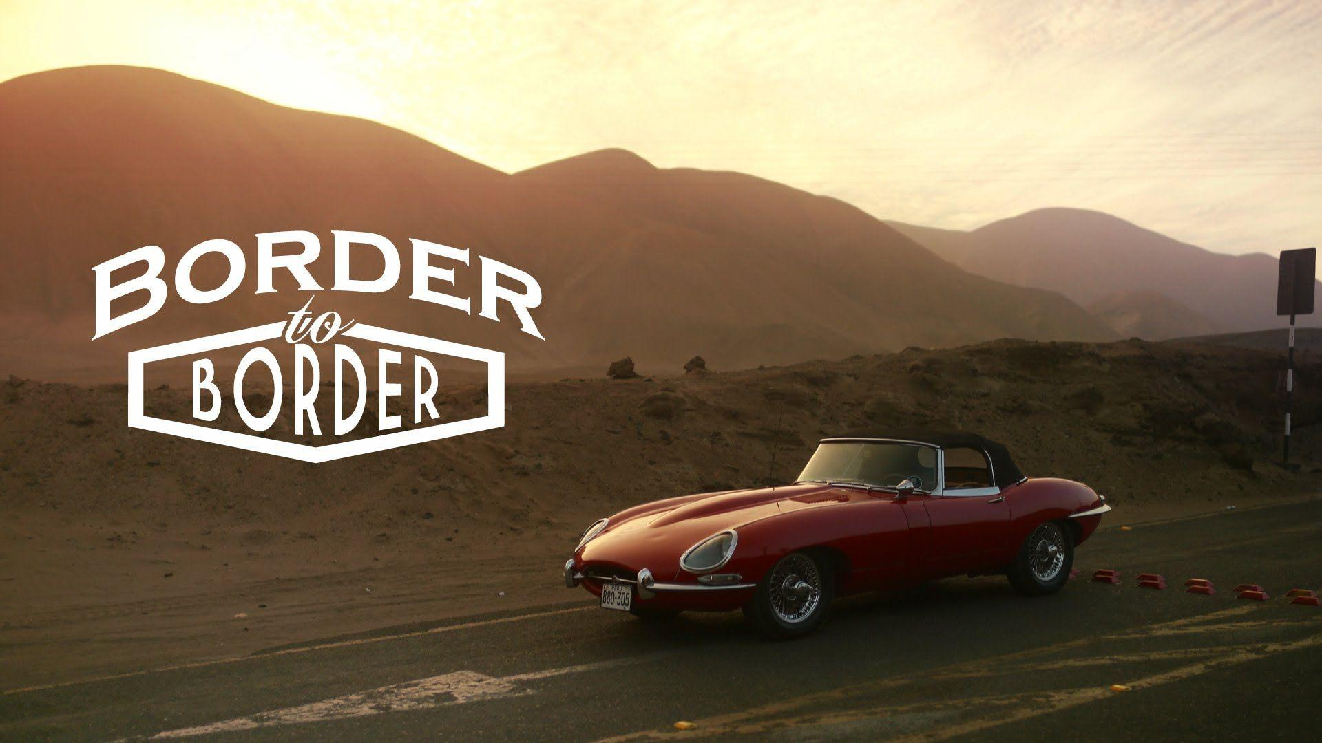This Jaguar E-Type Has Been Driven From Border To Border - YouTube