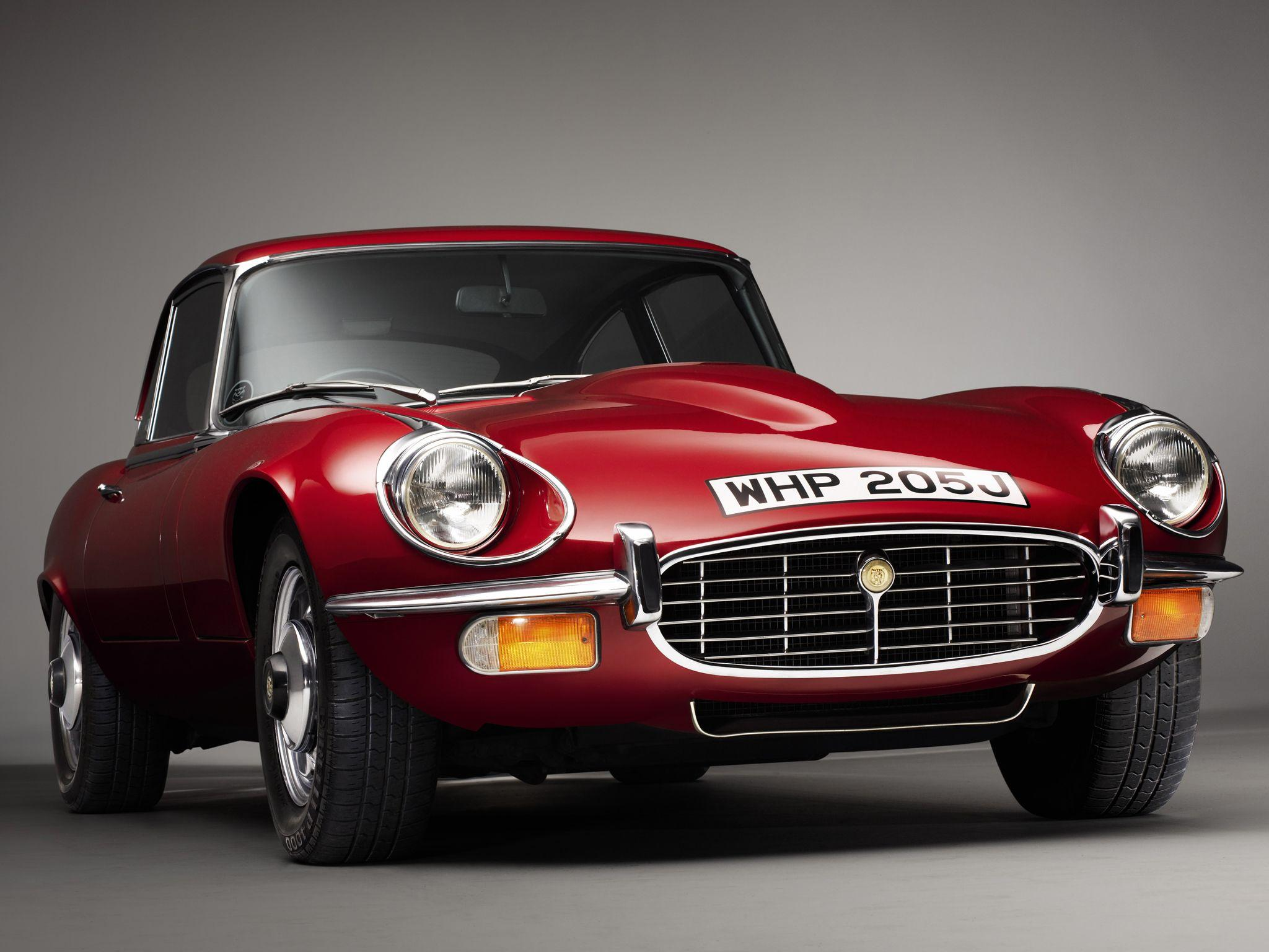 1968 (G) Jaguar E Type Series 2 Service History , Red ...