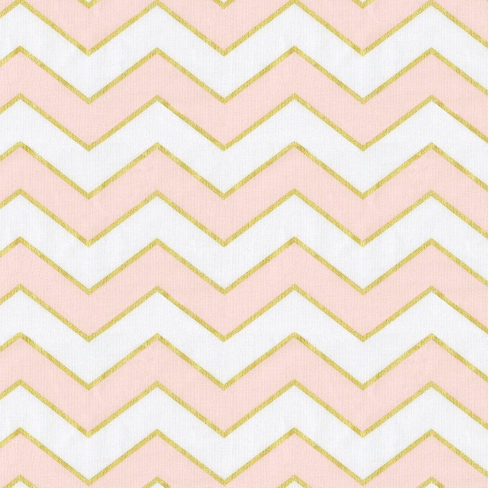 49 Pink Gold Wallpaper