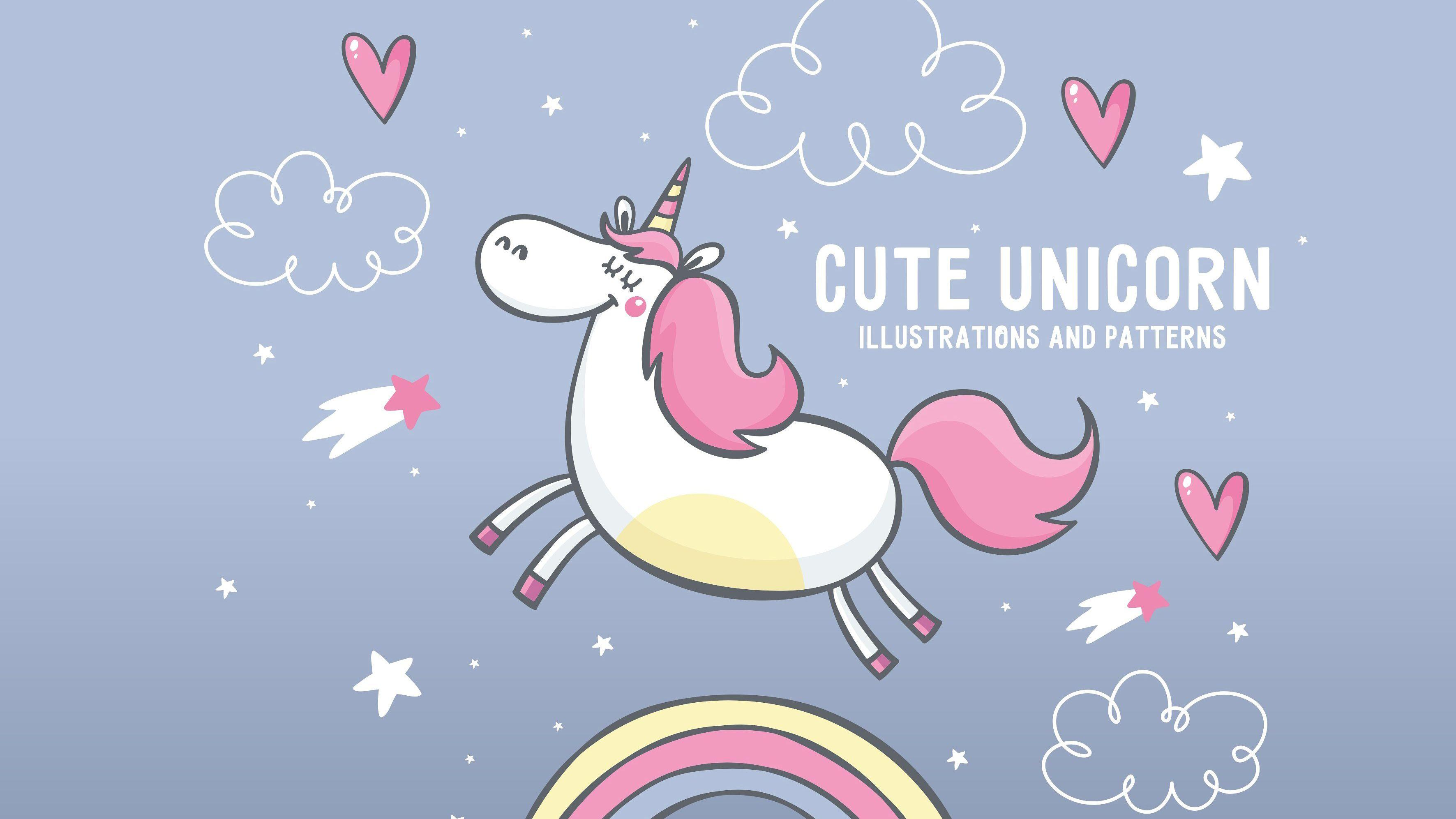 Cute Unicorn Wallpapers - Wallpaper Cave