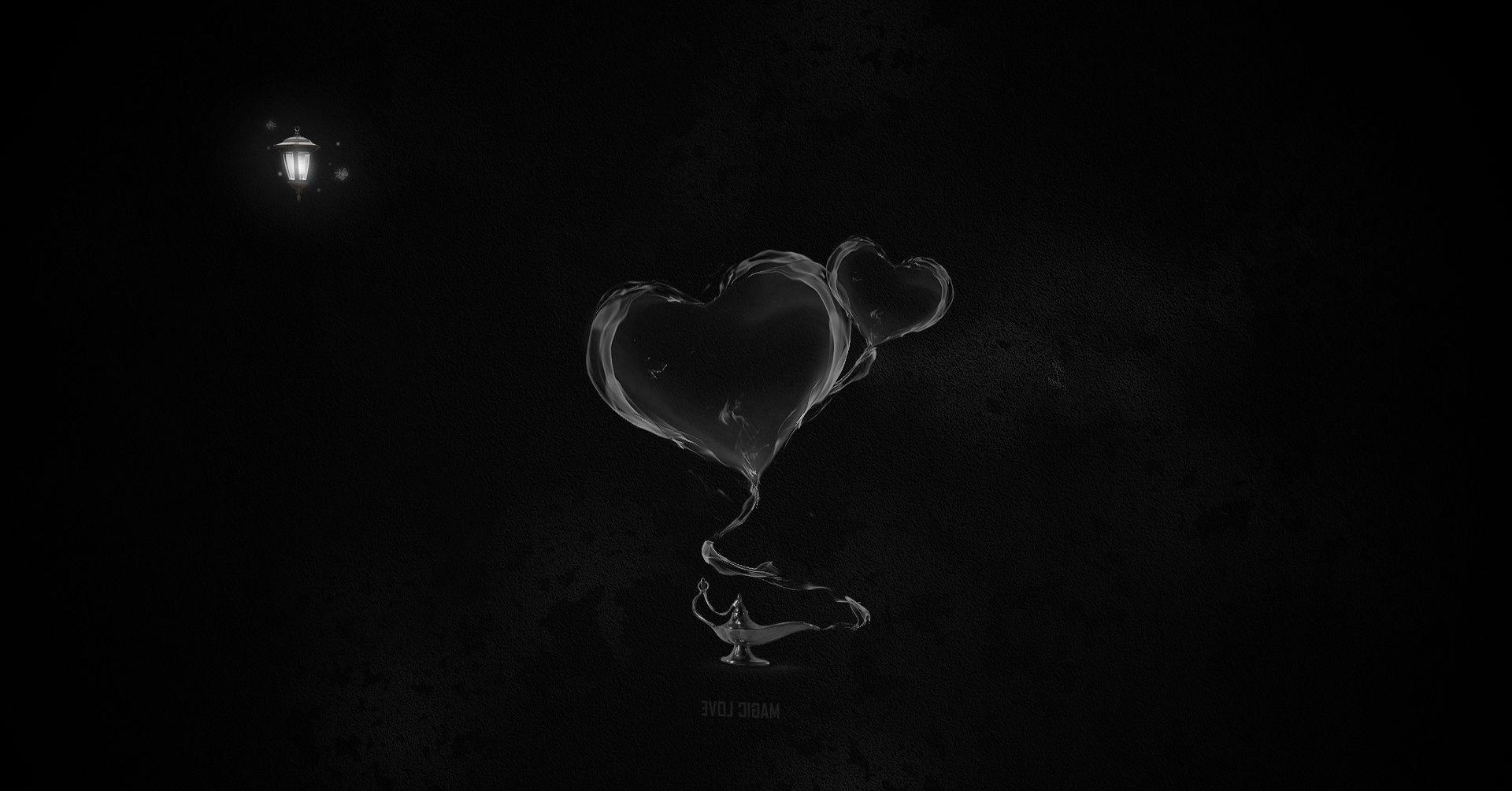 Black Heart Wallpapers Wallpaper Cave