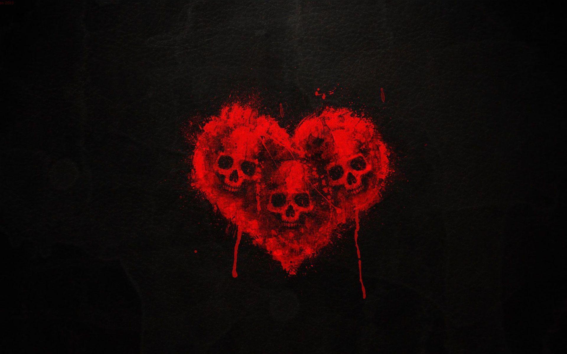 Black Heart Wallpapers - Wallpaper Cave